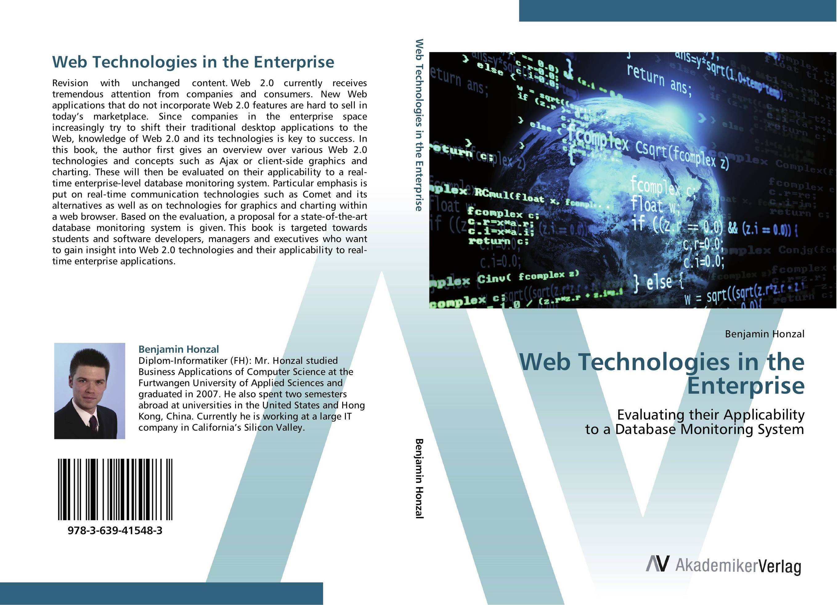 Web Technologies in the Enterprise david luckham c event processing for business organizing the real time enterprise