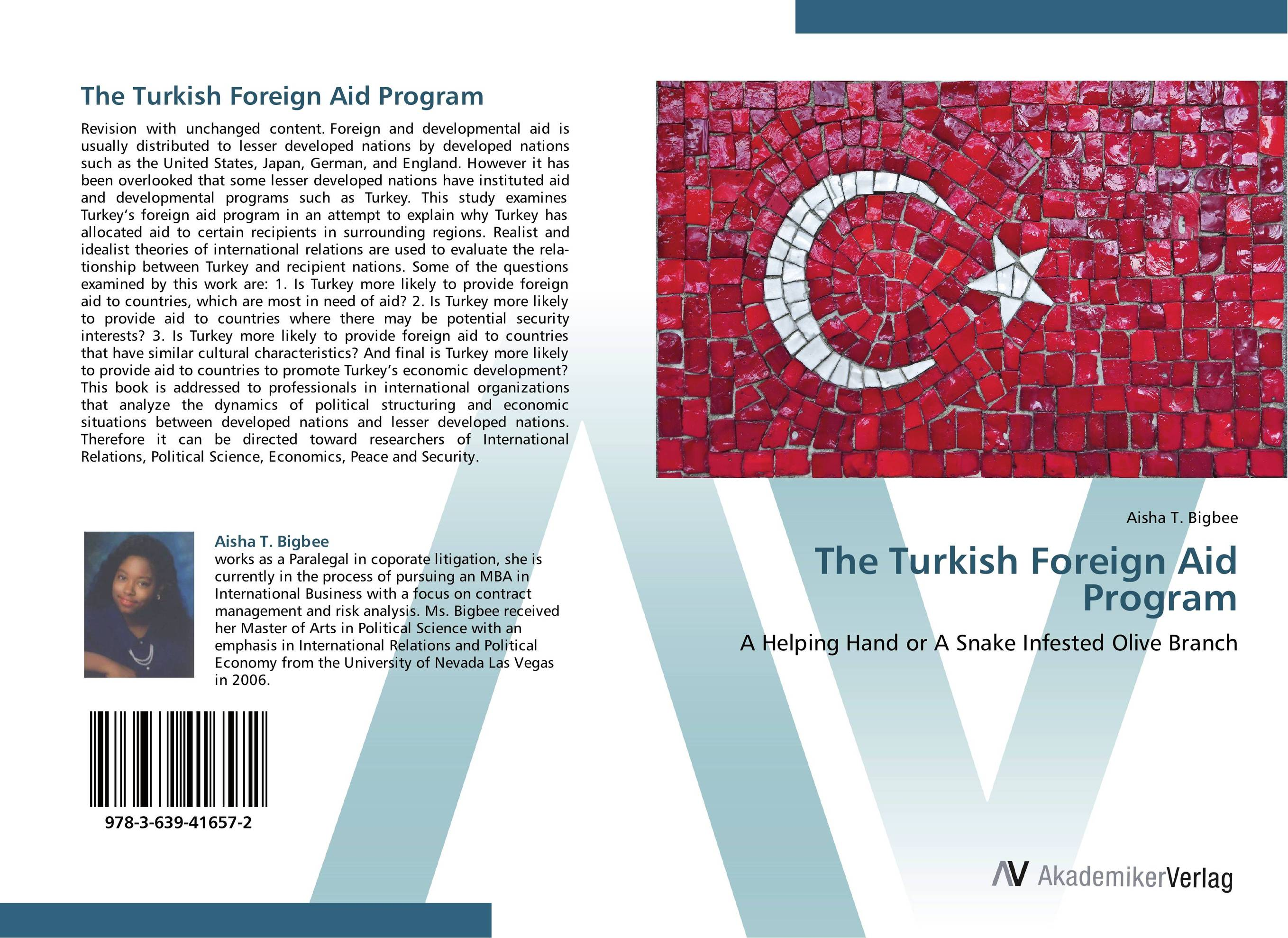 The Turkish Foreign Aid Program boy most likely to