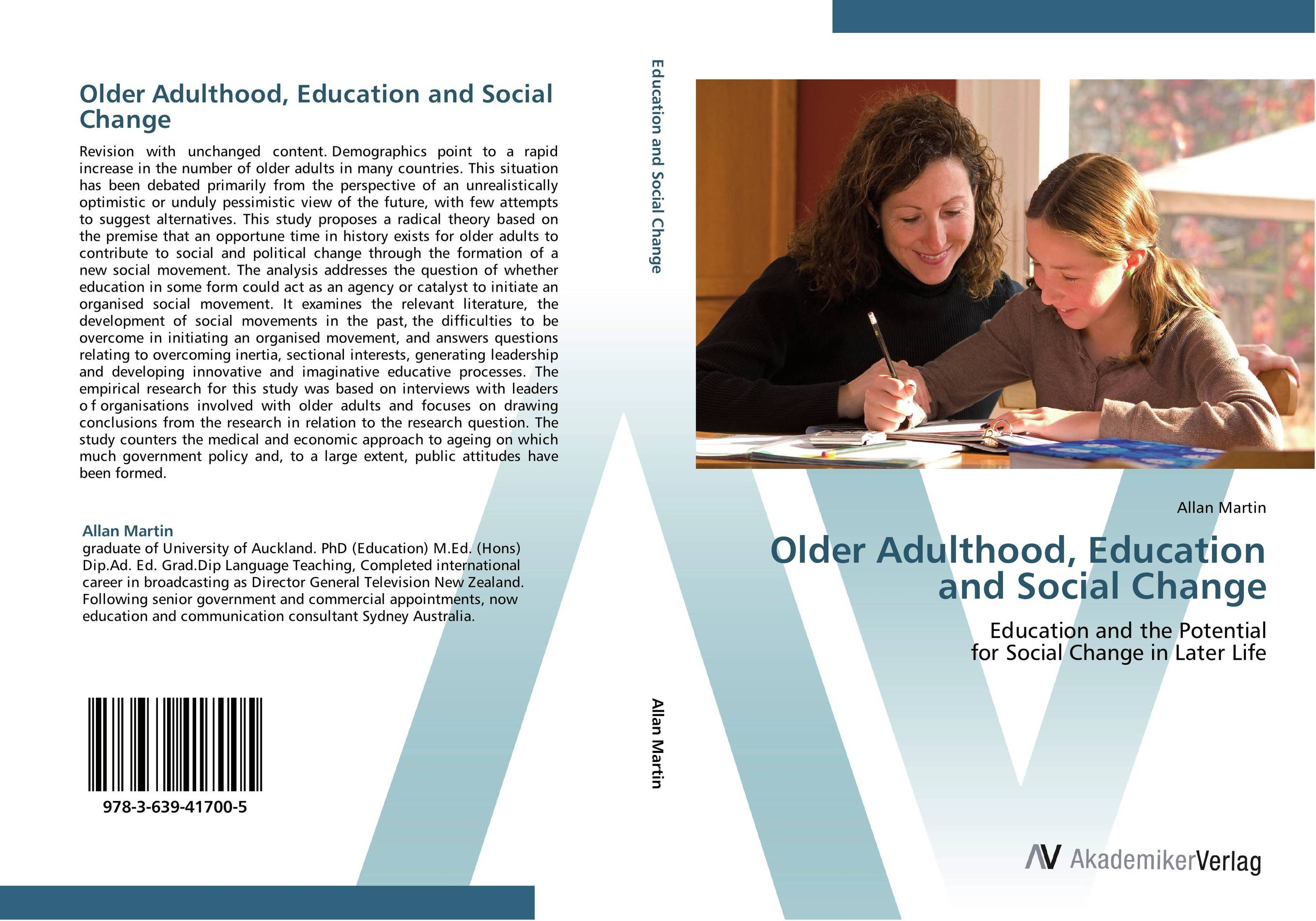 Older Adulthood, Education and Social Change foundations of education an ems approach