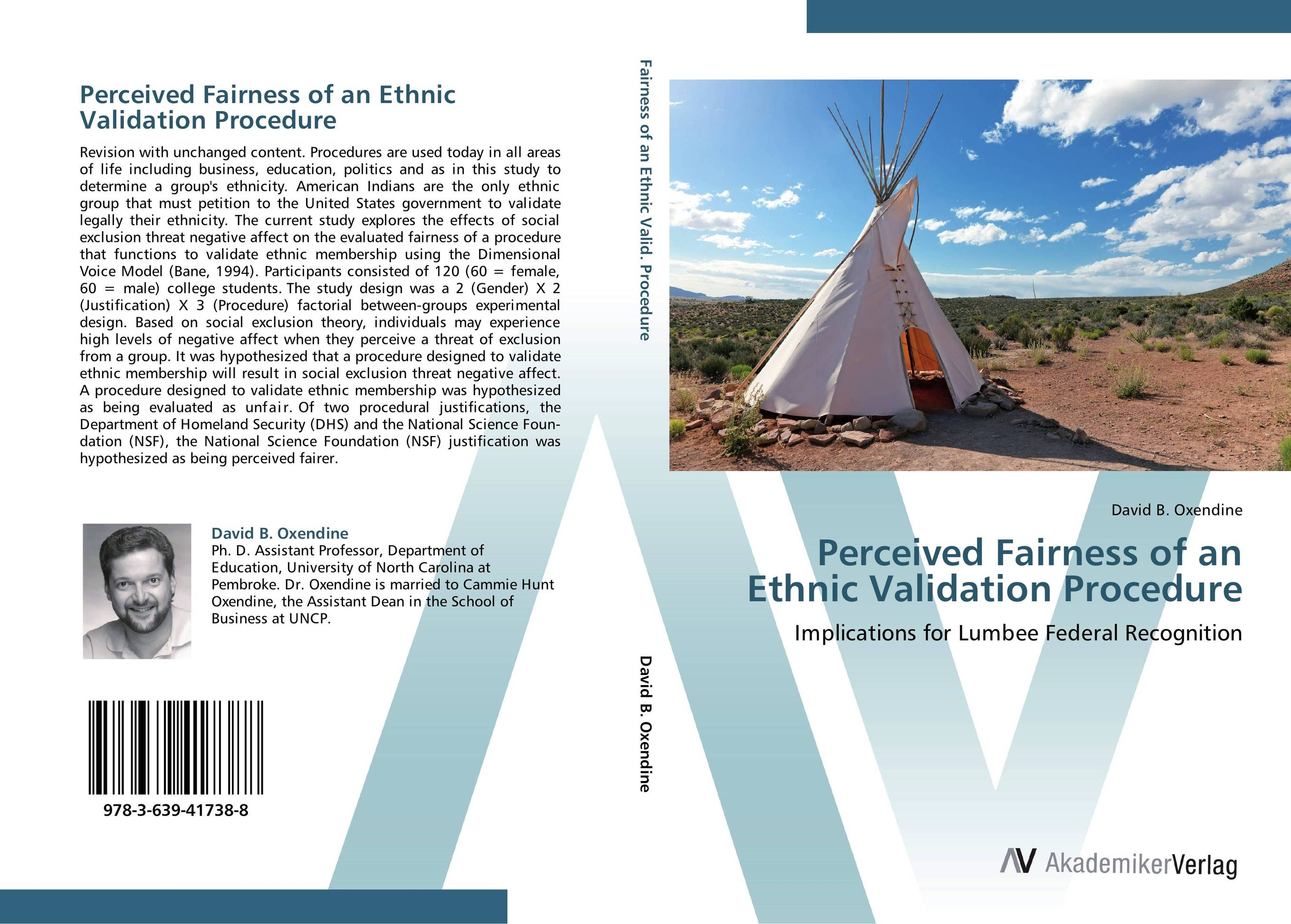 Perceived Fairness of an Ethnic Validation Procedure washington a maryland politicians threat to sue a 2