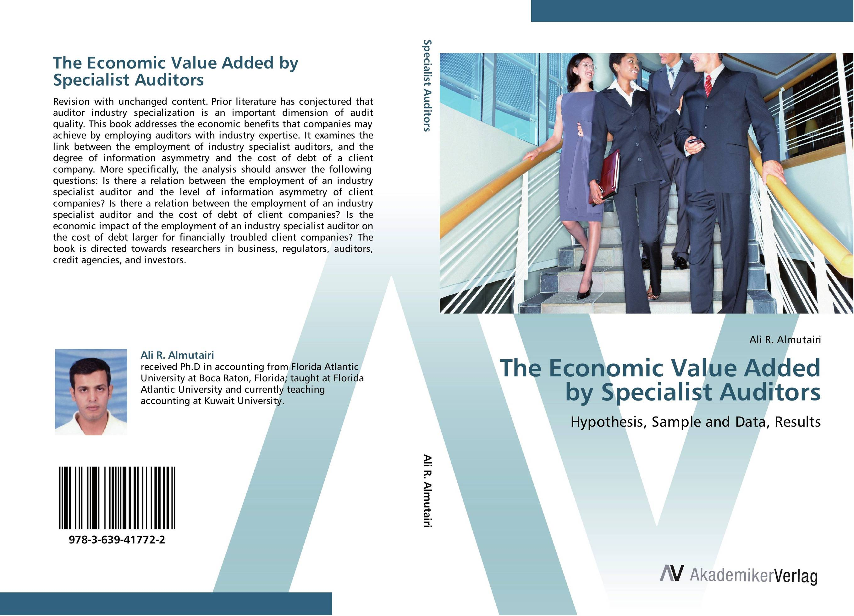 The Economic Value Added by Specialist Auditors the link between race and credit card debt