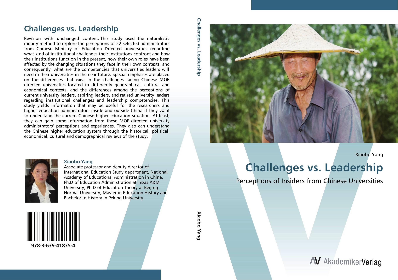 Challenges vs. Leadership t zulfikar akarim leadership perceptions in indonesian higher education