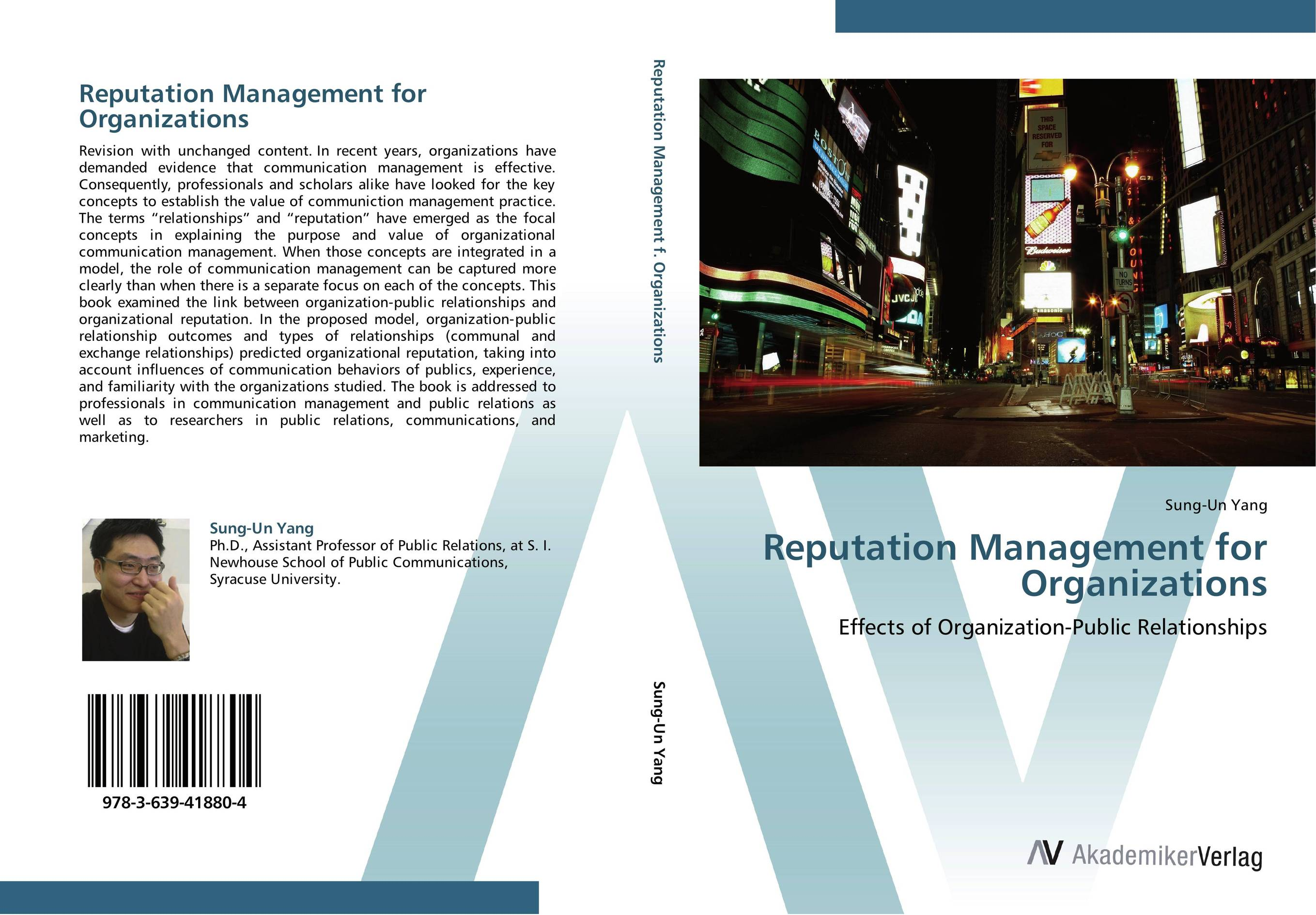 Reputation Management for Organizations