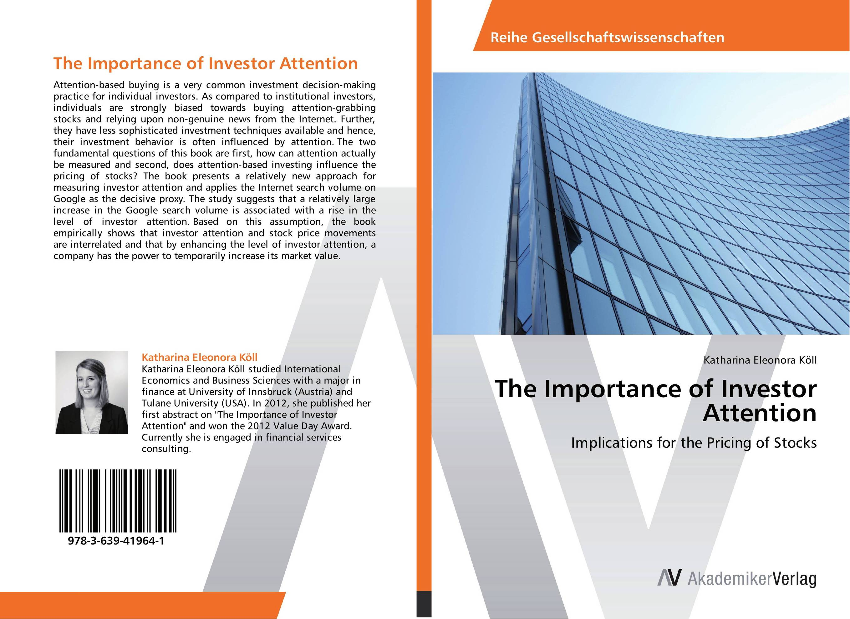 The Importance of Investor Attention edgar iii wachenheim common stocks and common sense the strategies analyses decisions and emotions of a particularly successful value investor