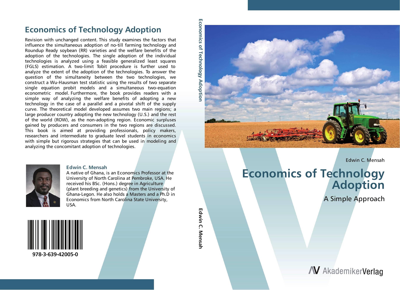 Economics of Technology Adoption massimiliano castelli the new economics of sovereign wealth funds