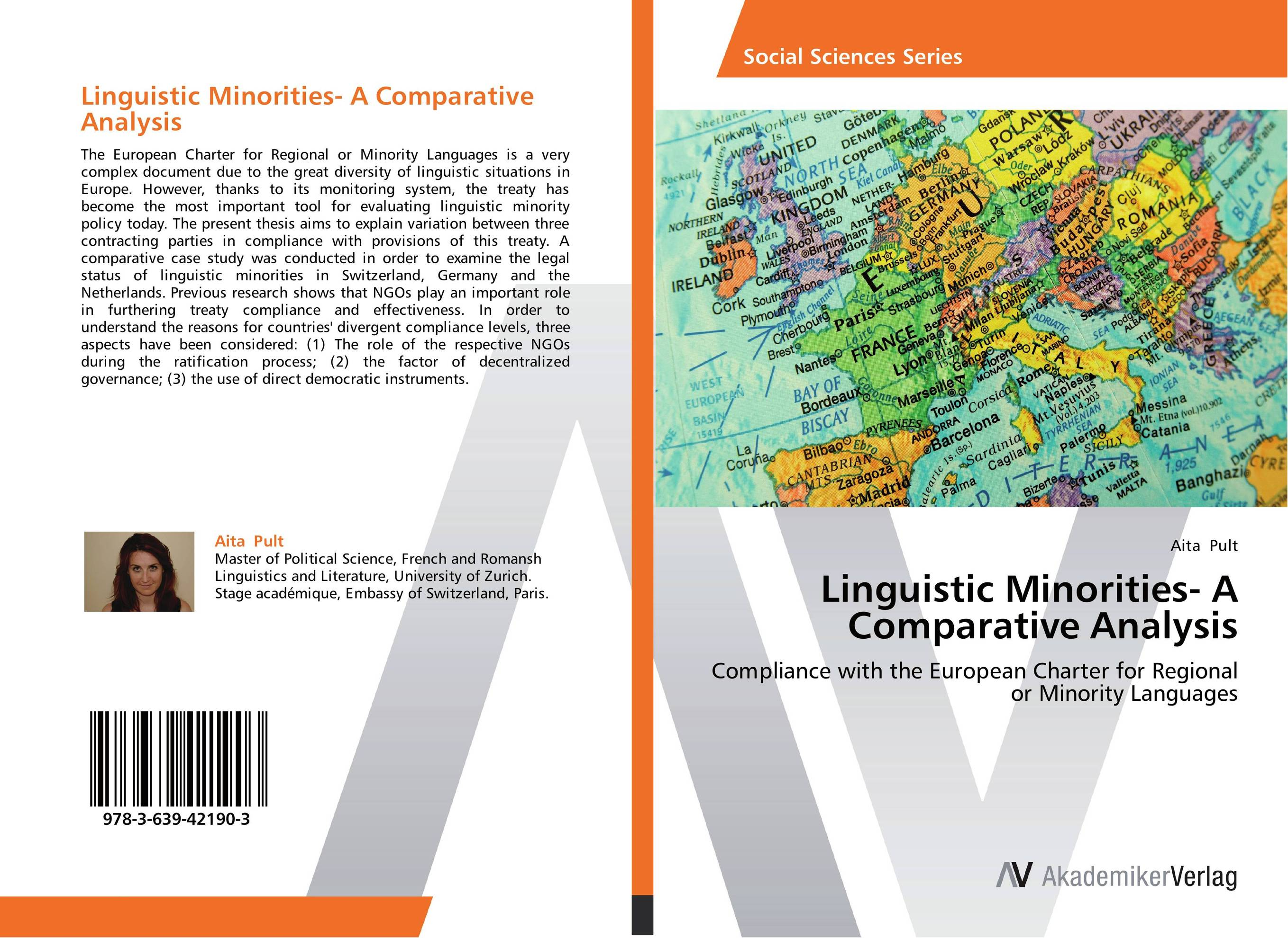 Linguistic Minorities- A Comparative Analysis купить