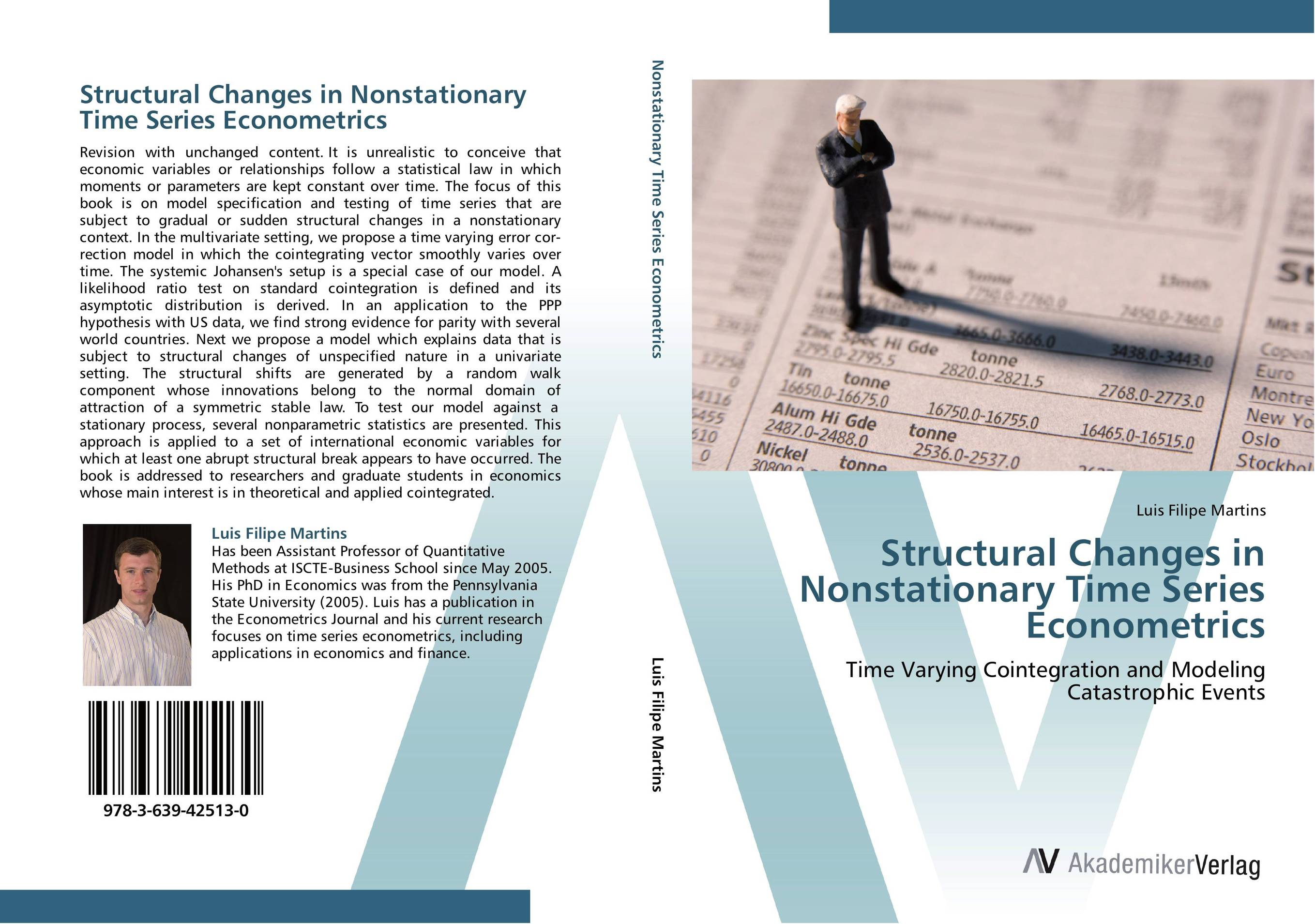 Structural Changes in Nonstationary Time Series Econometrics ali issa estimating the demand for money in libya an application of the lagrange multiplier structural break unit root test and the ardl cointegration approach