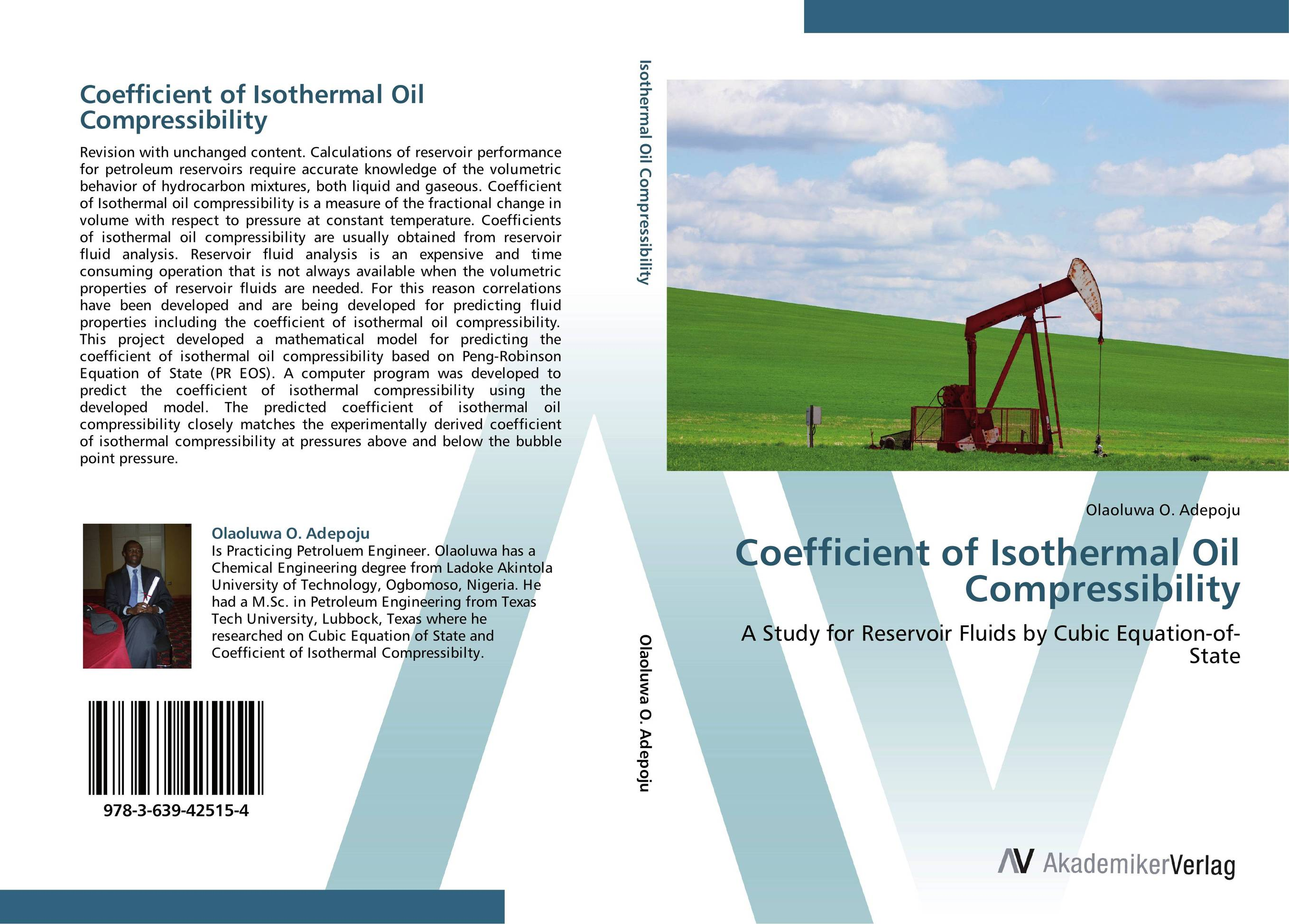 Coefficient of Isothermal Oil Compressibility tarek ahmed working guide to reservoir rock properties and fluid flow