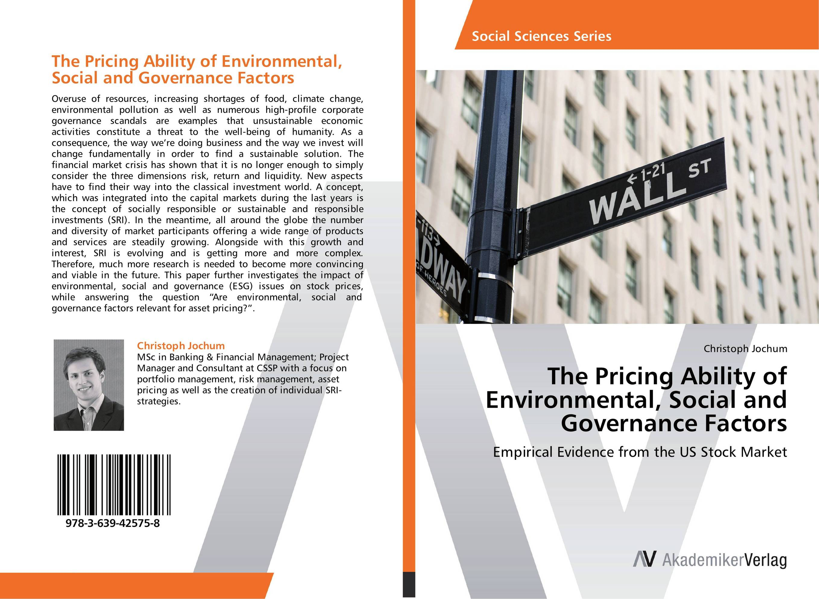 The Pricing Ability of Environmental, Social and Governance Factors