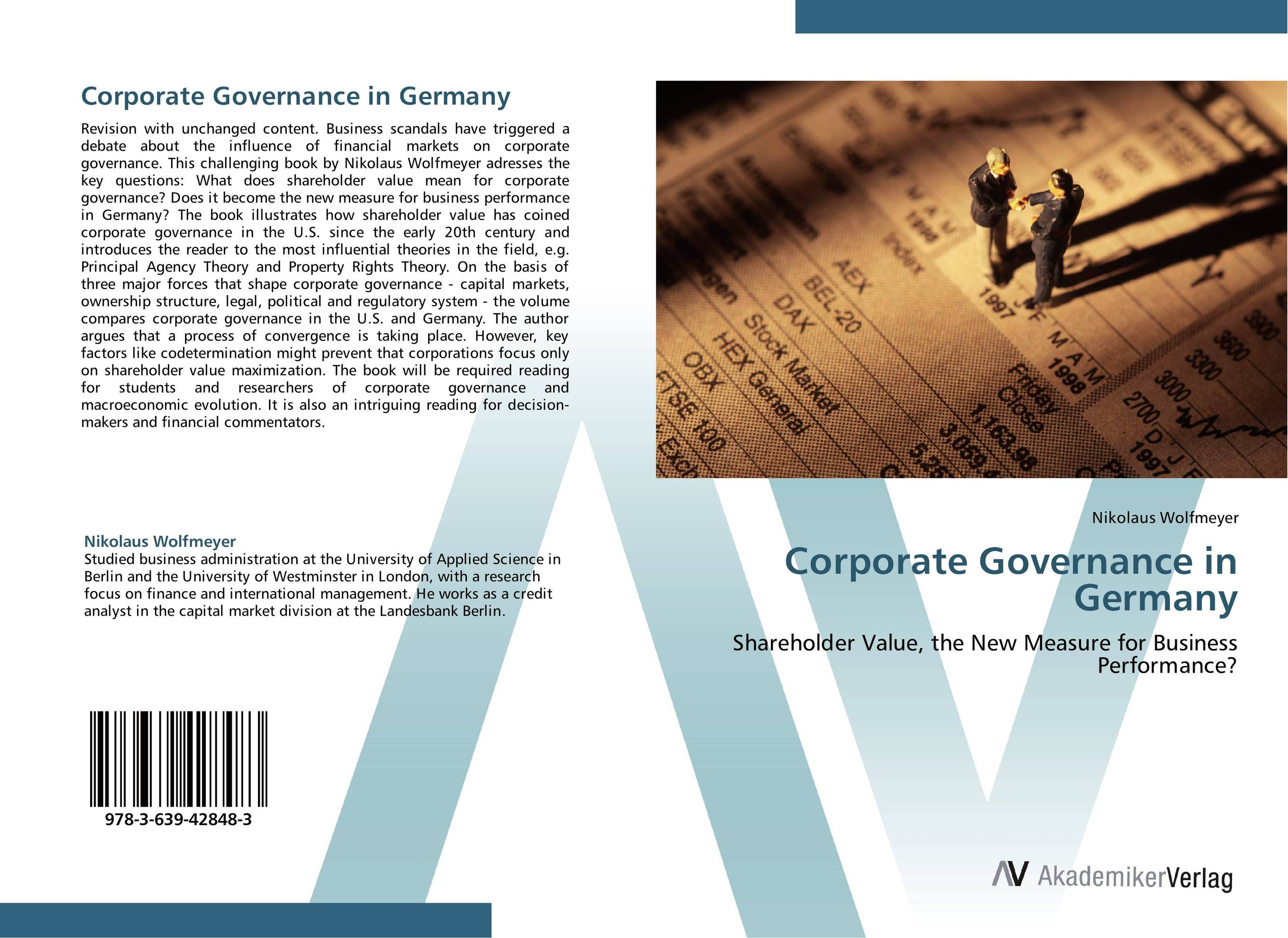 Corporate Governance in Germany corporate governance audit quality and opportunistic earnings