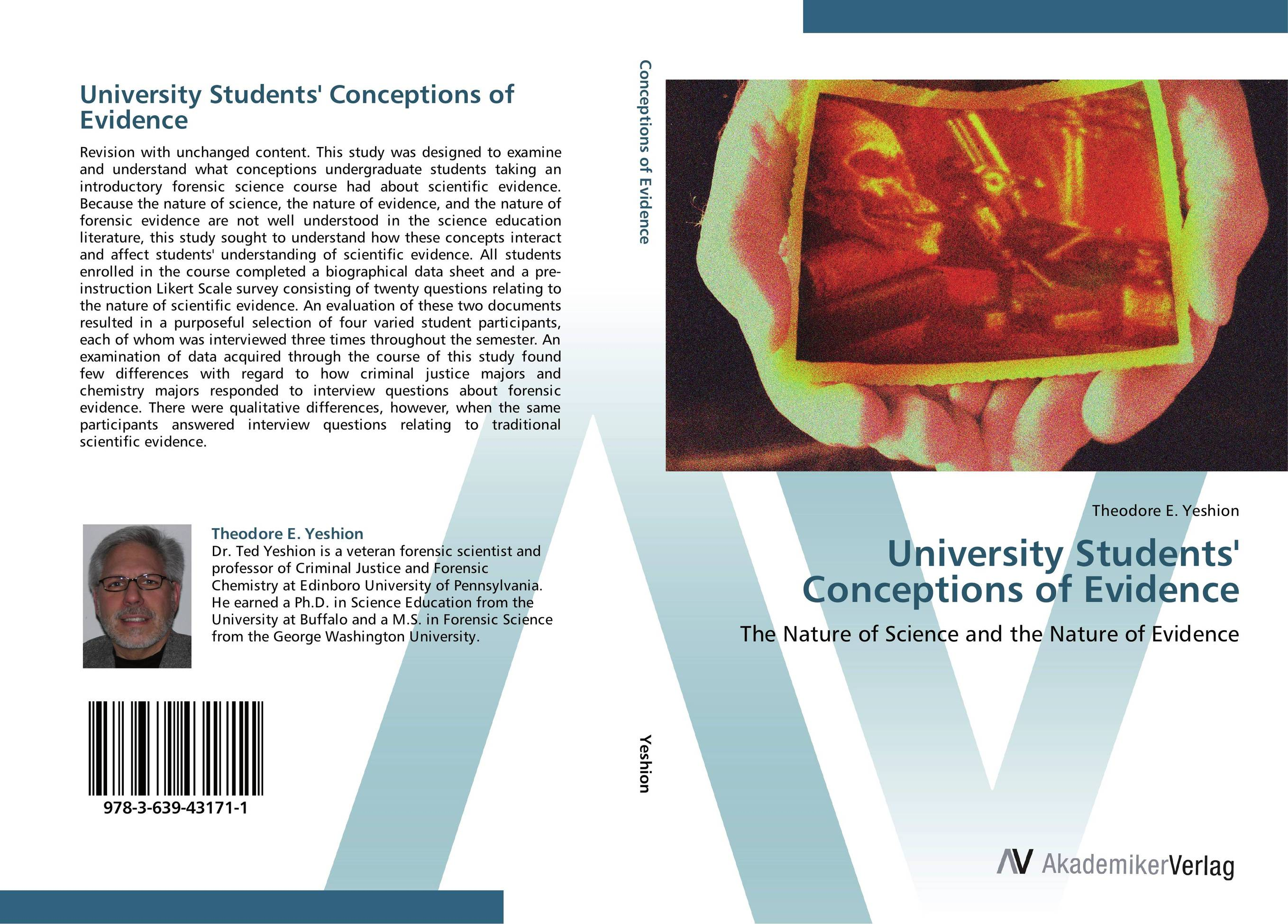 University Students' Conceptions of Evidence fundamentals of forensic science