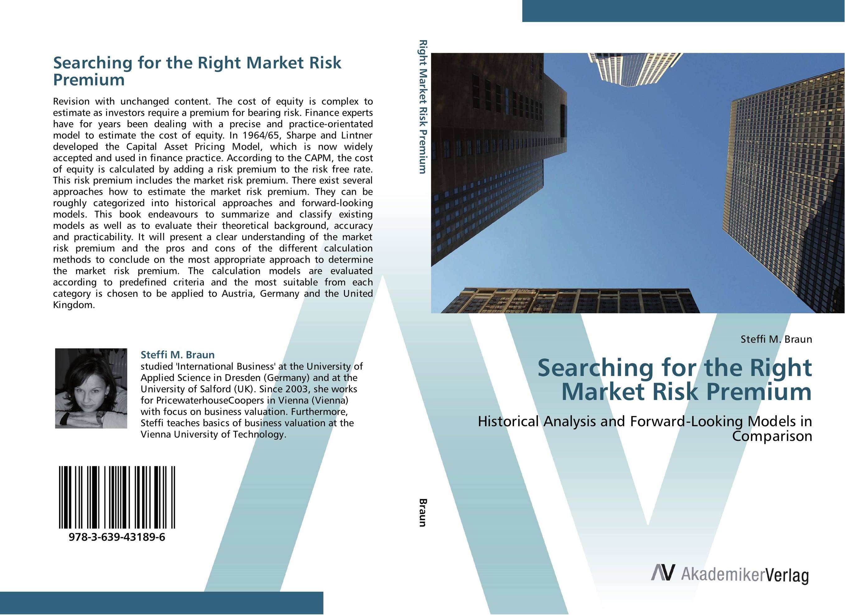 Searching for the Right Market Risk Premium christian szylar handbook of market risk