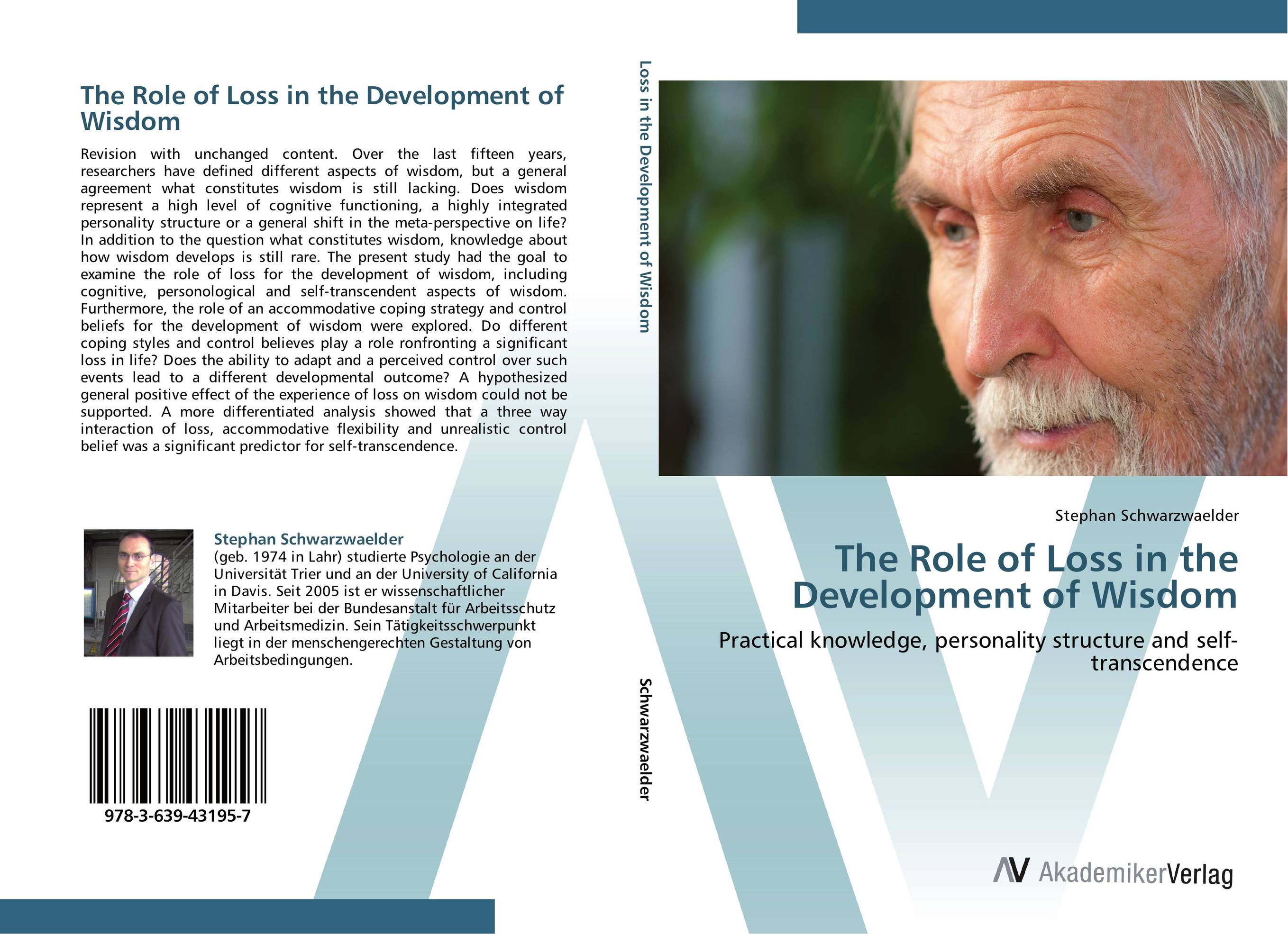 The Role of Loss in the Development of Wisdom the wisdom of the ego paper