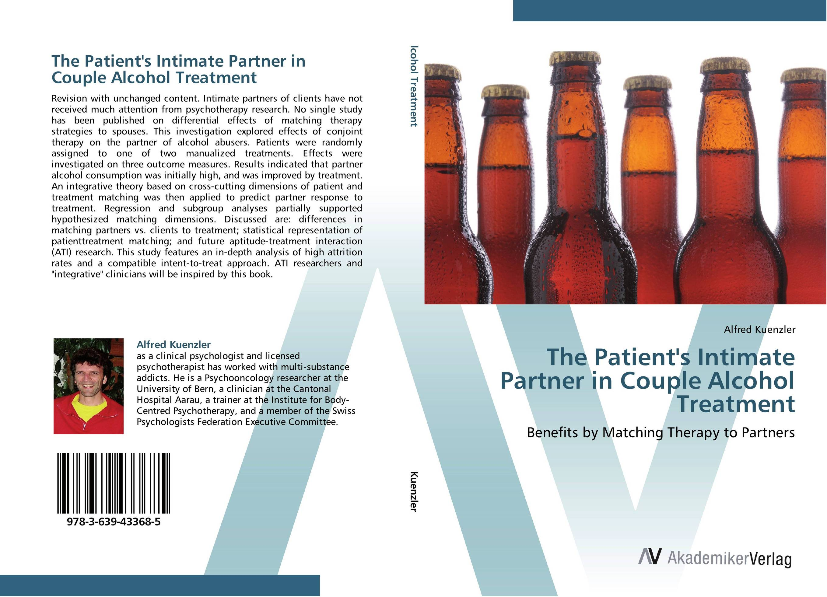 The Patient's Intimate Partner in Couple Alcohol Treatment treatment outcomes among clients on anti retroviral therapy art