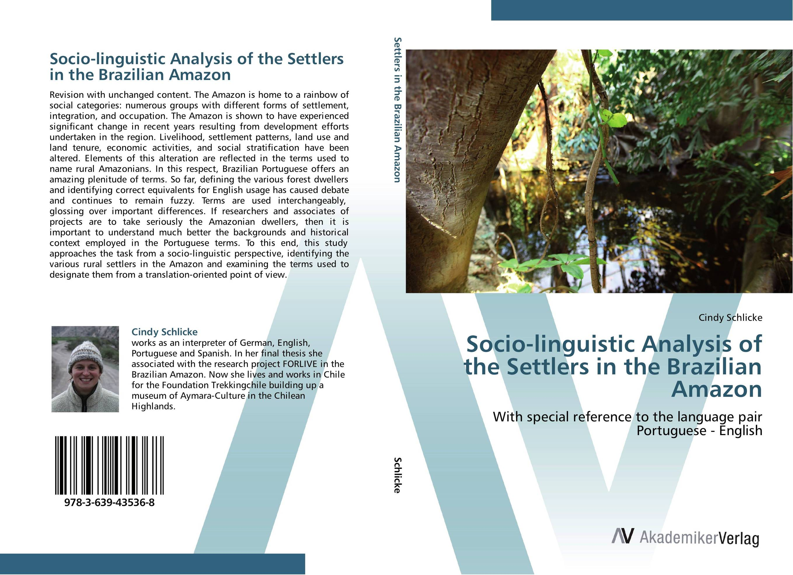 цены  Socio-linguistic Analysis of the Settlers in the Brazilian Amazon