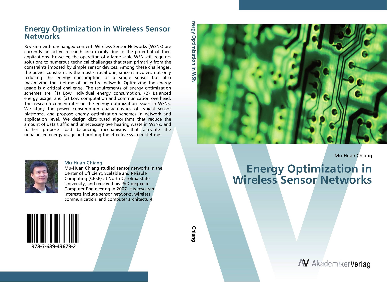 Energy Optimization in Wireless Sensor Networks ct4 22mm energy monitoring sensor clamp