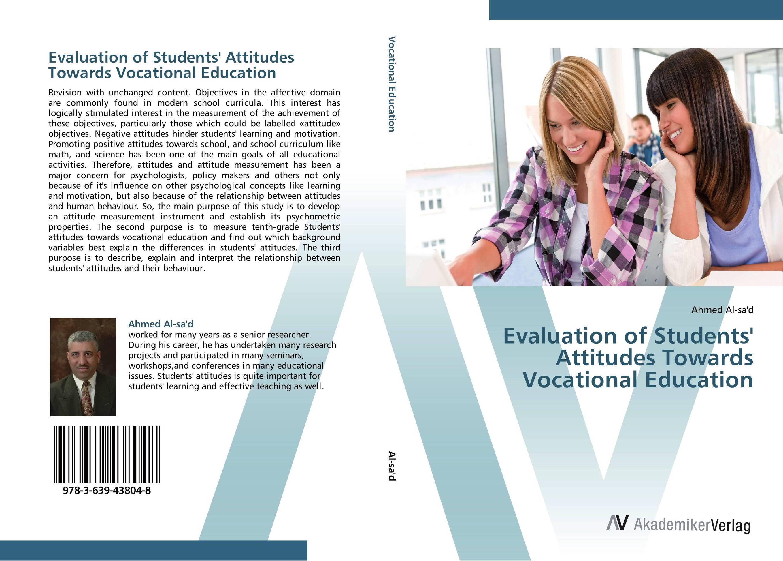 Evaluation of Students' Attitudes Towards Vocational Education sociolinguistic variation and attitudes towards language behaviour