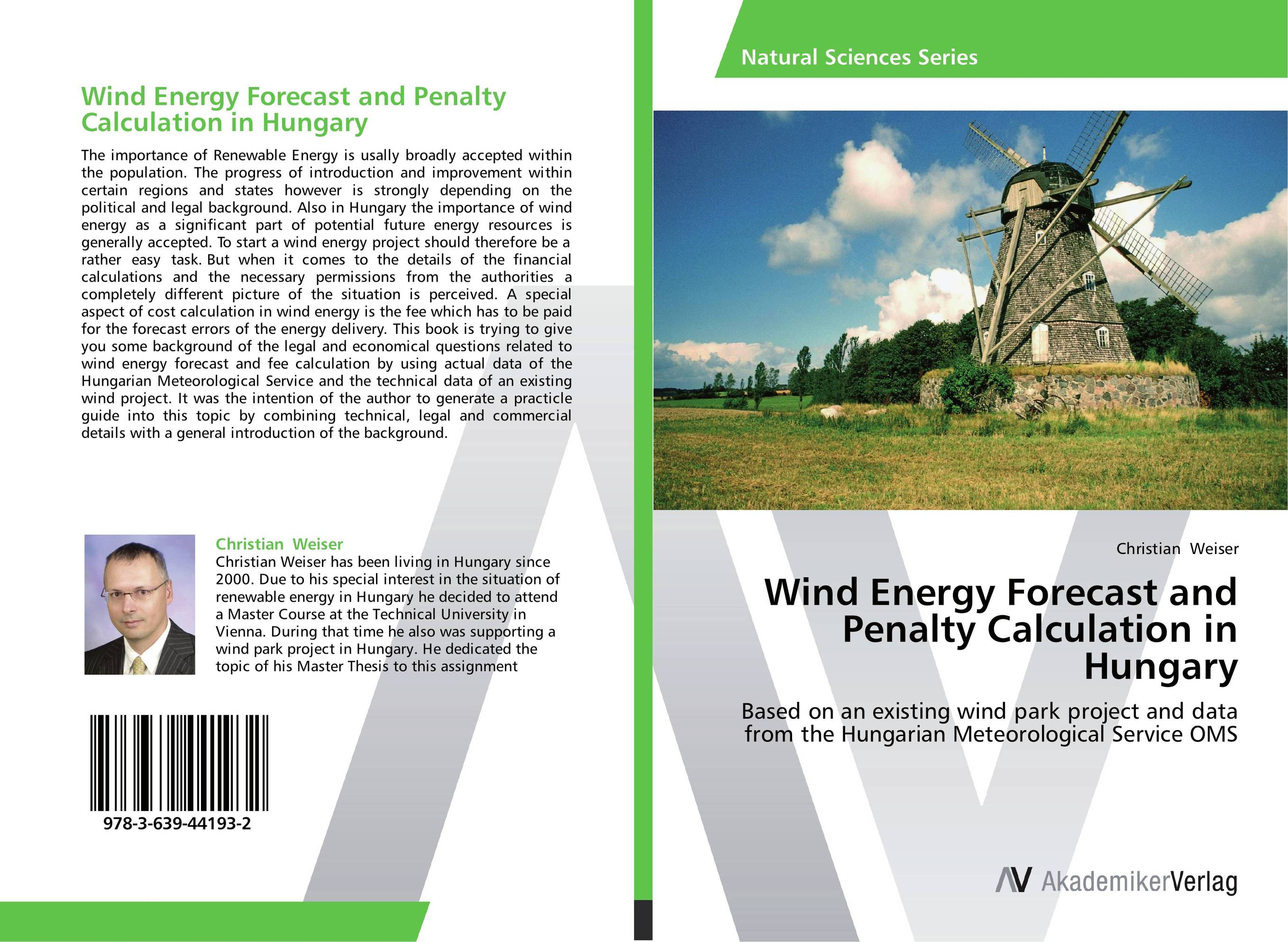Wind Energy Forecast and Penalty Calculation in Hungary