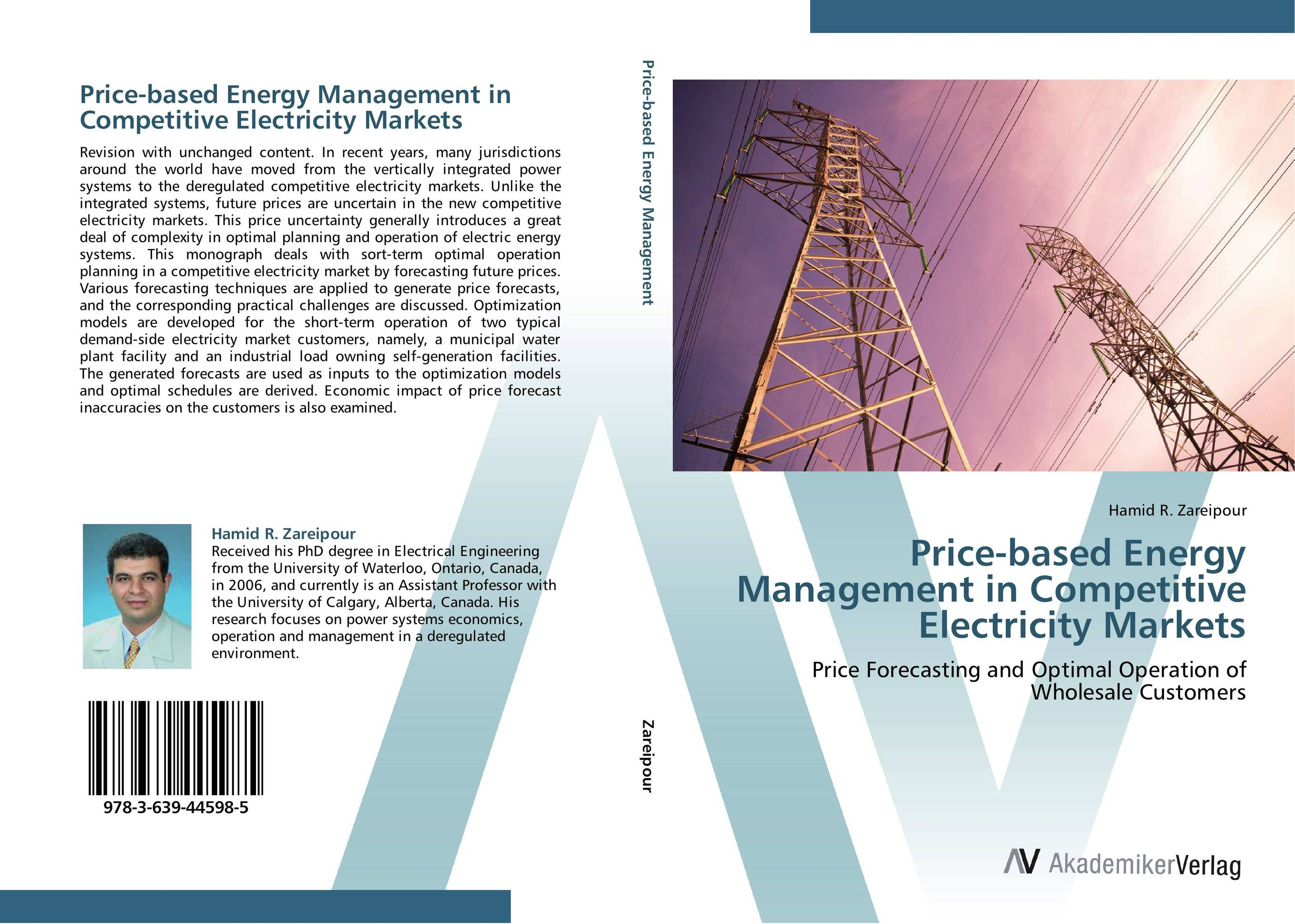 Price-based Energy Management in Competitive Electricity Markets optimal and efficient motion planning of redundant robot manipulators