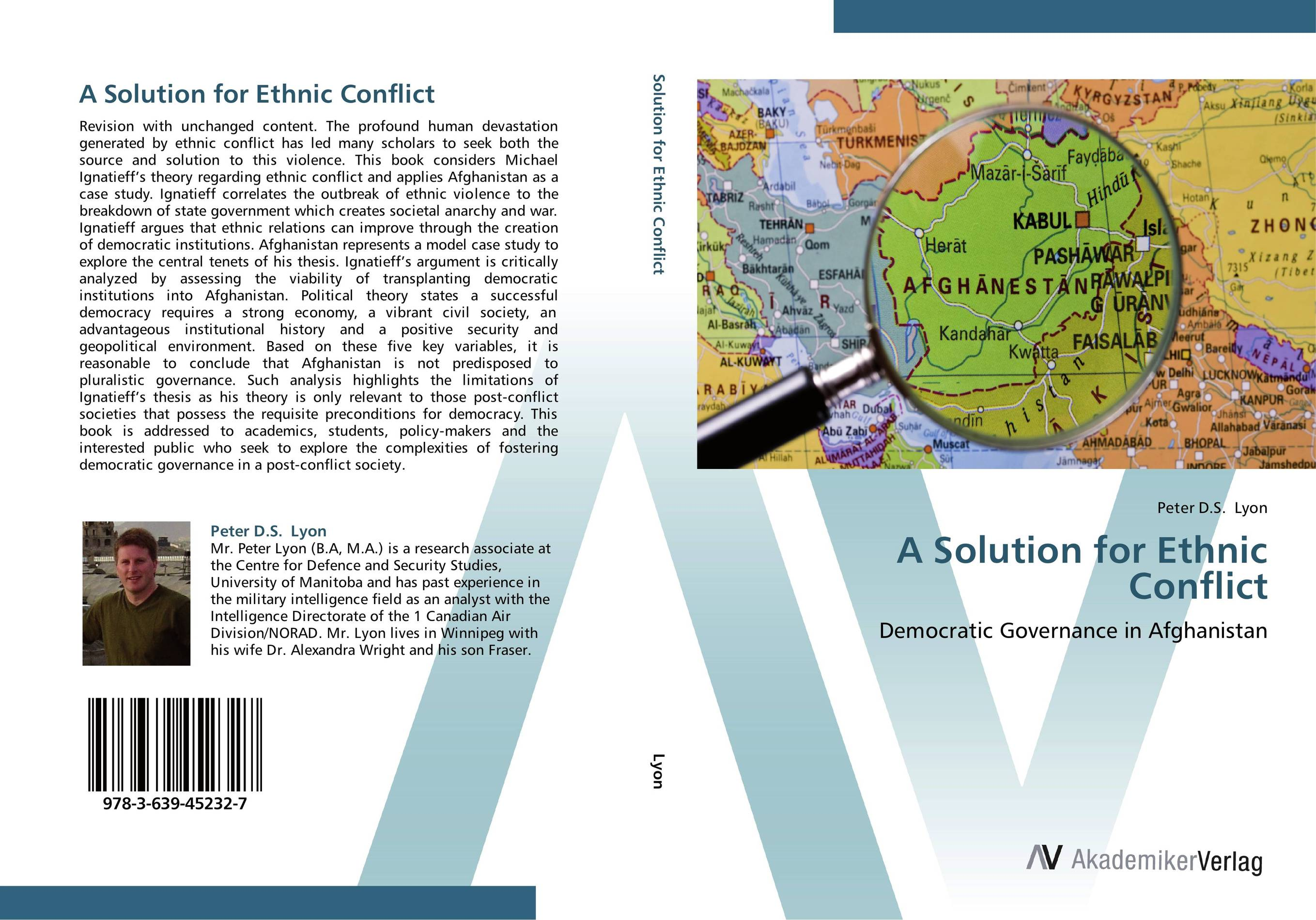 A Solution for Ethnic Conflict mahboobullah iltaf representative governance in a post conflict islamic state
