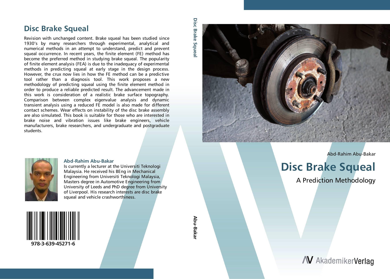 Disc Brake Squeal disc brake squeal