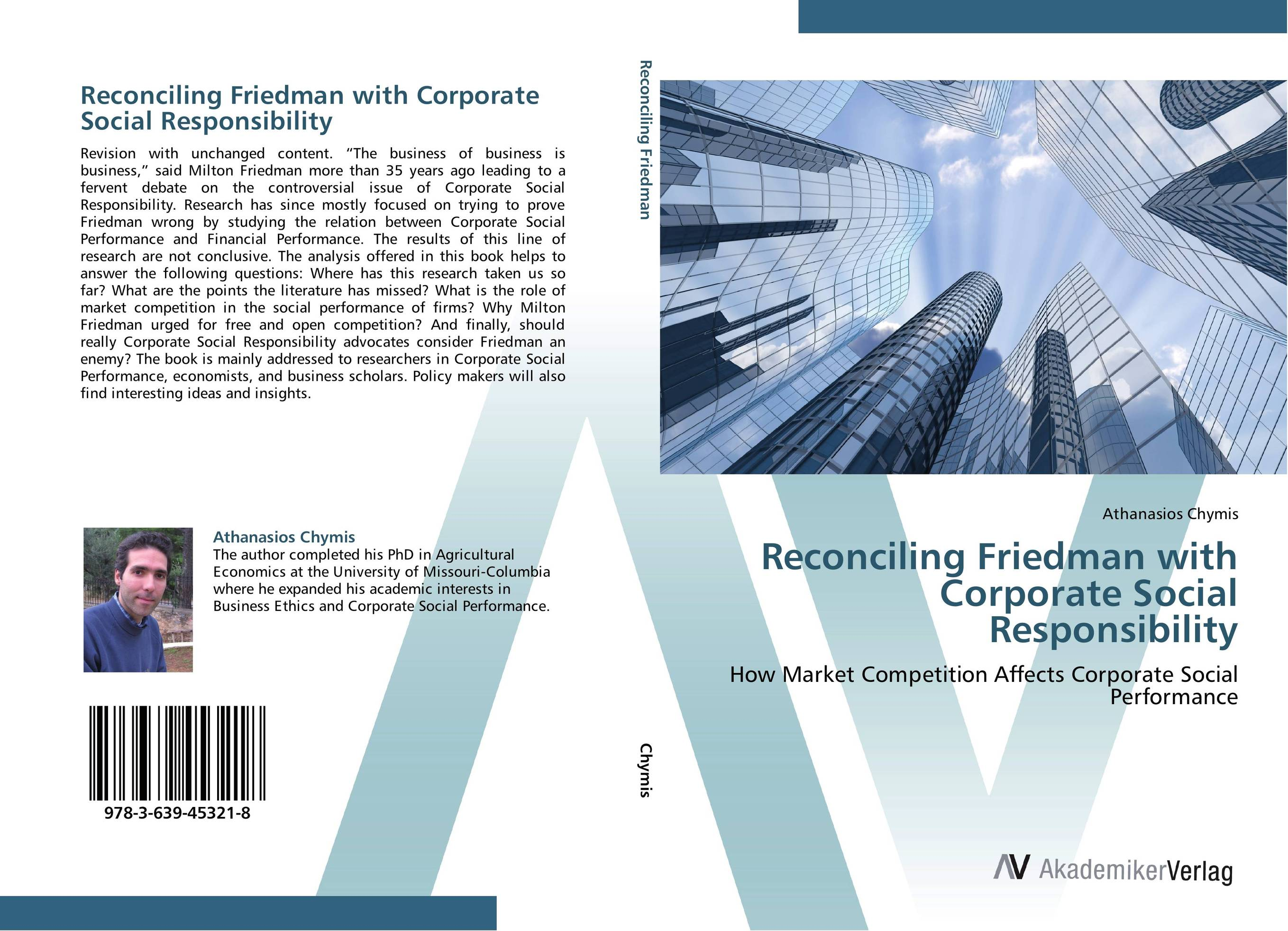 Reconciling Friedman with Corporate Social Responsibility dan zheng the impact of employees perception of corporate social responsibility