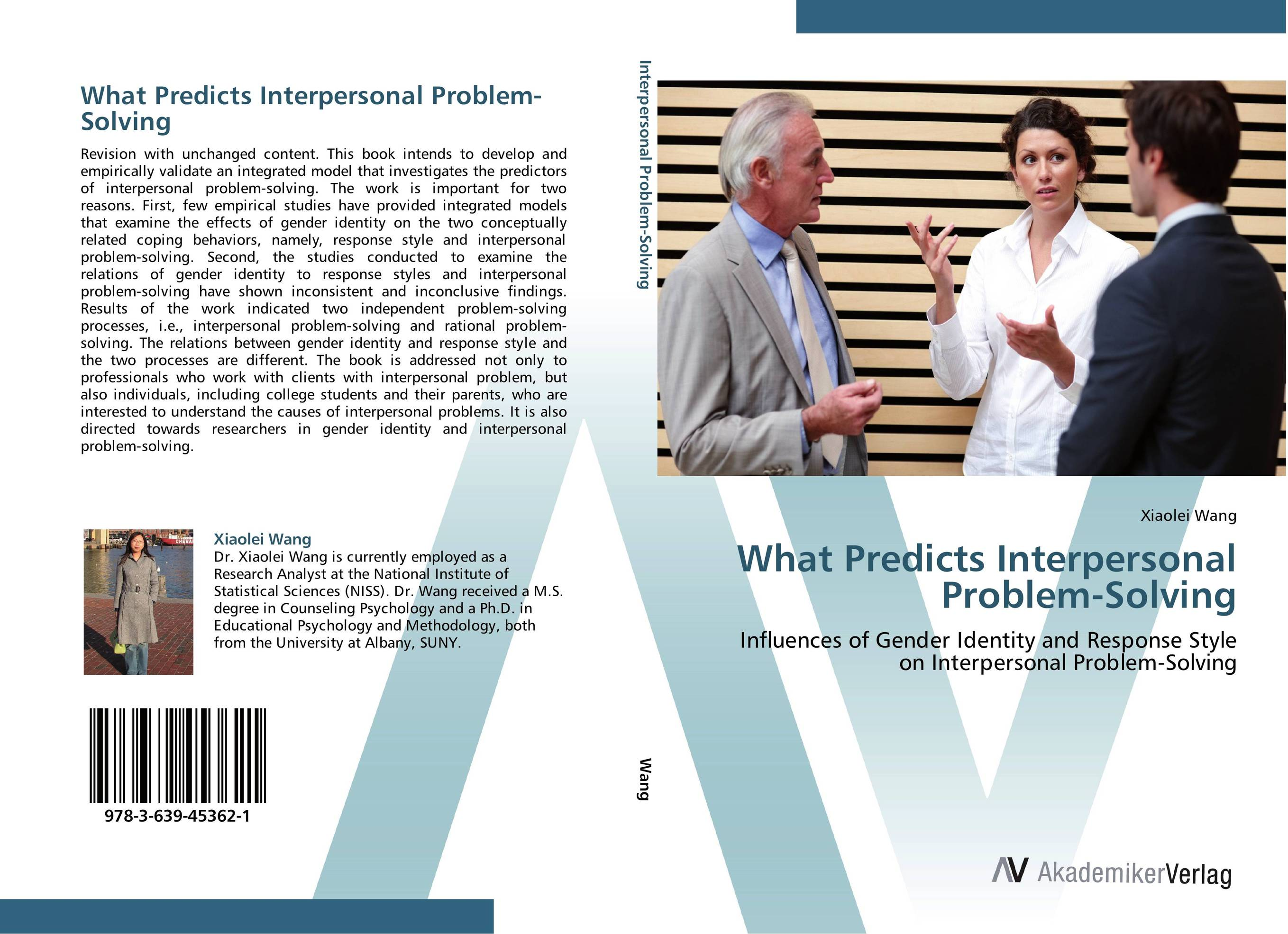 What Predicts Interpersonal Problem-Solving gender identity and place