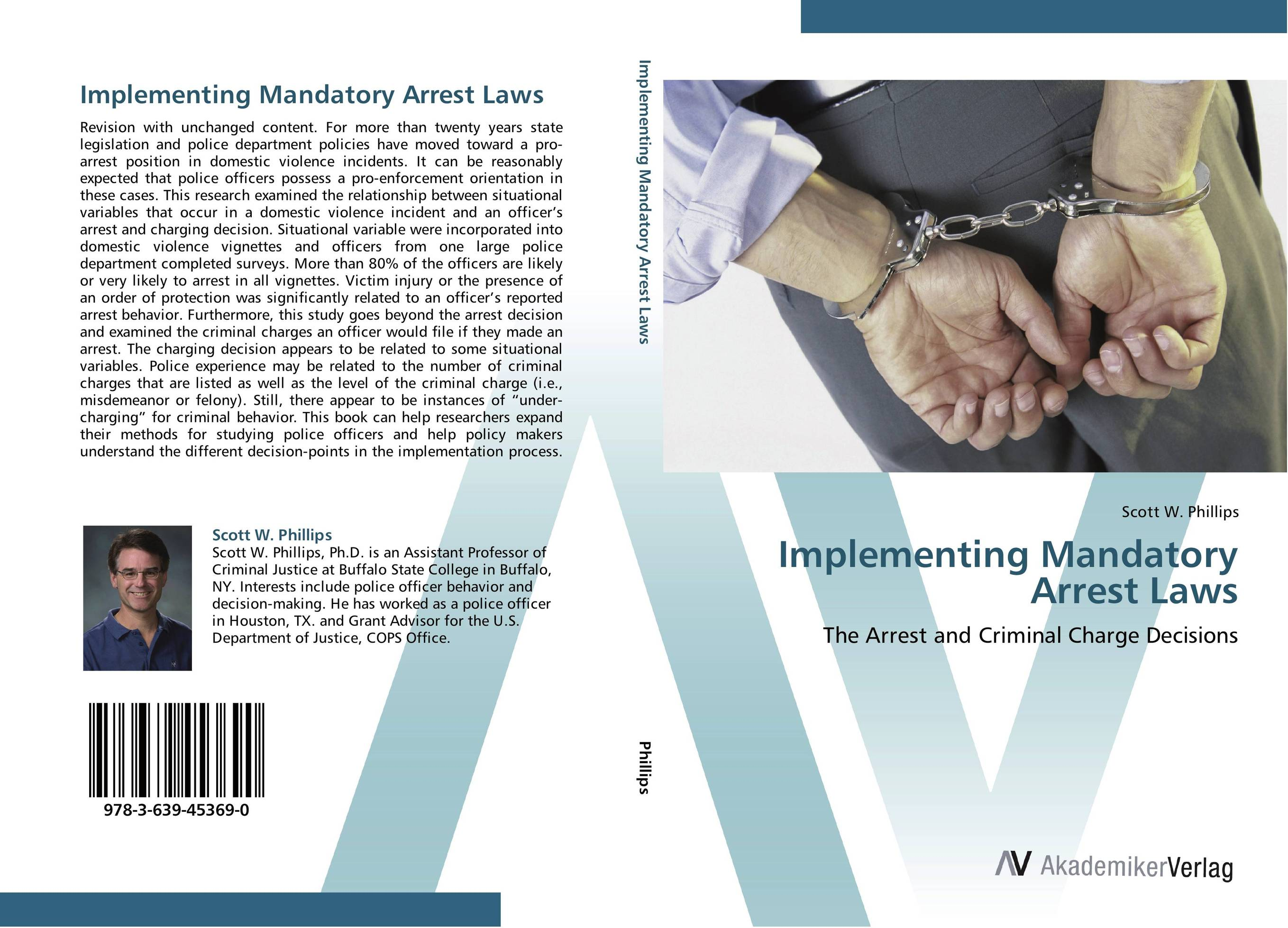 Implementing Mandatory Arrest Laws marc vollenweider mind machine a decision model for optimizing and implementing analytics