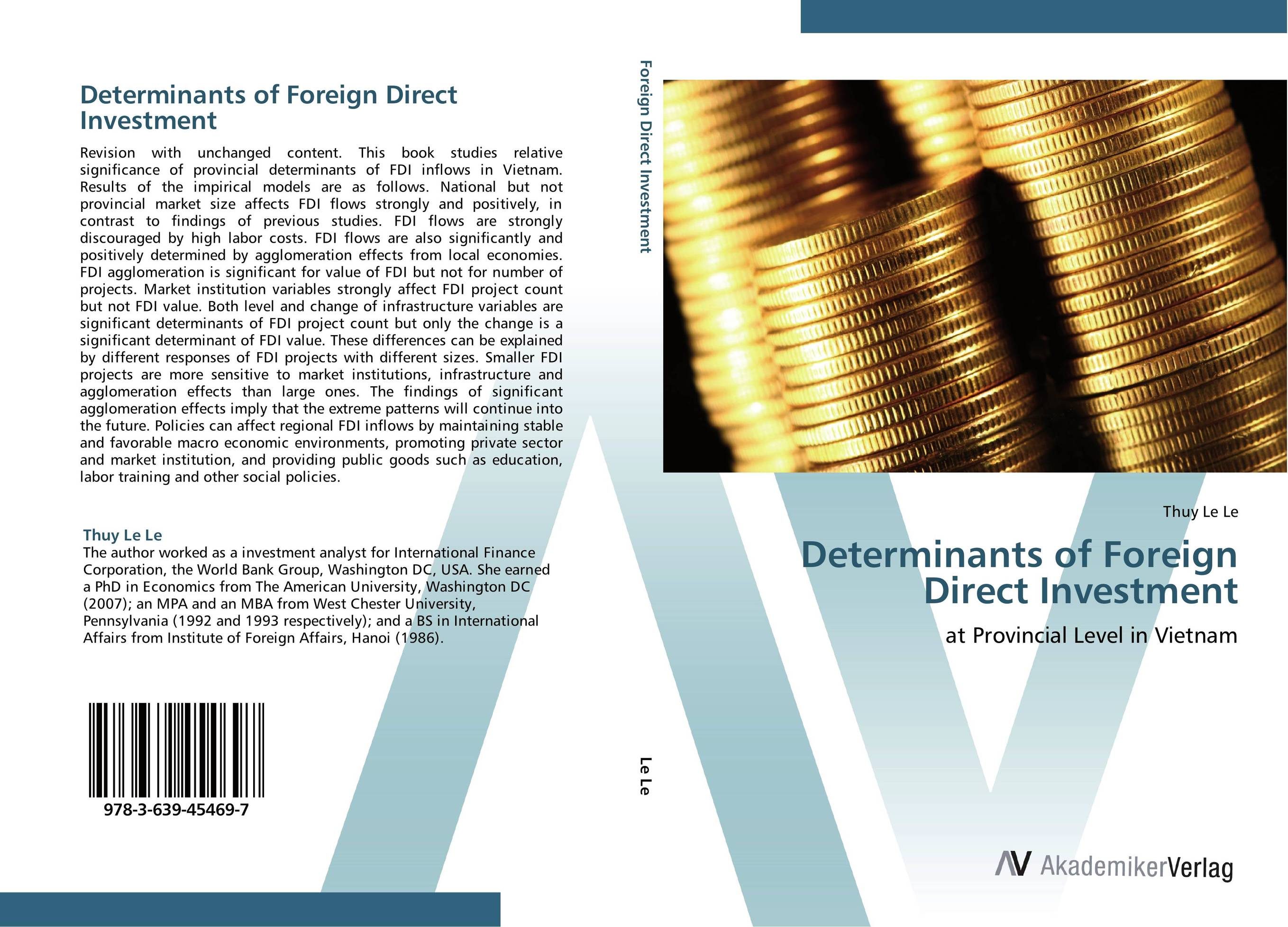 Determinants of Foreign Direct Investment bibiana njogo fdi determinants in pre and deregulated nigerian economy