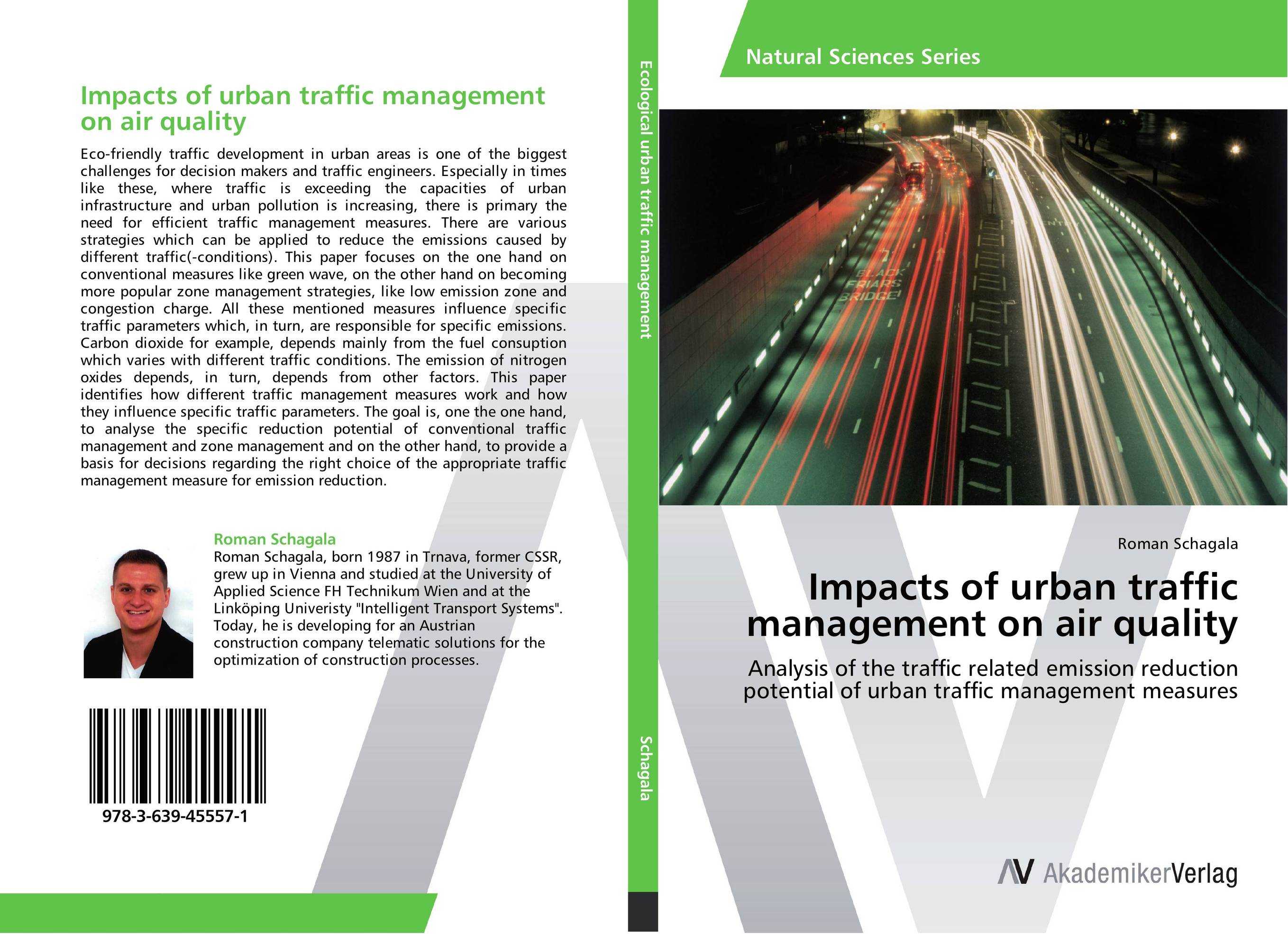 Impacts of urban traffic management on air quality impacts of urban traffic management on air quality