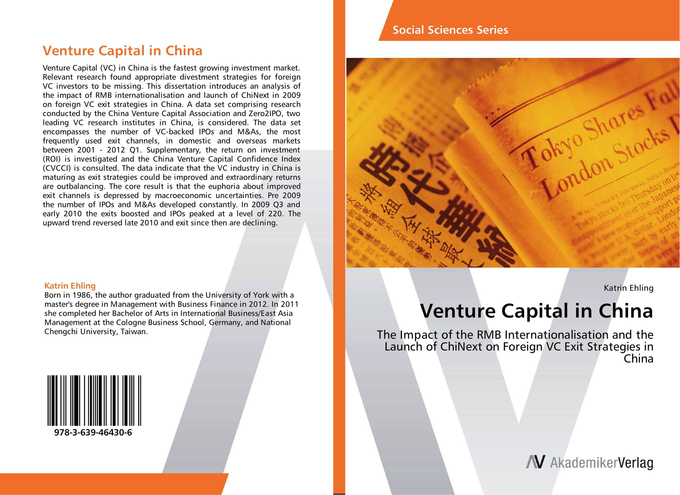 Venture Capital in China ipos underpricing