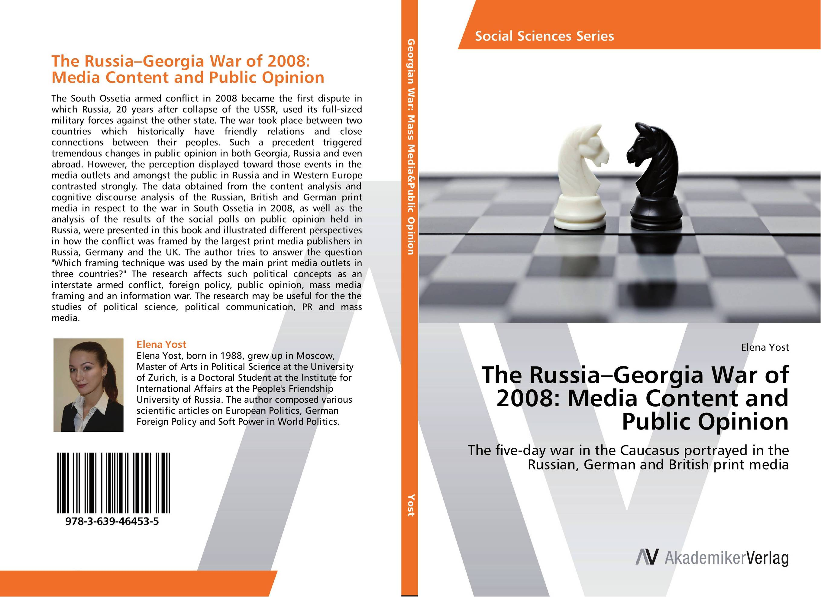 The Russia–Georgia War of 2008: Media Content and Public Opinion shakespeare after mass media [9780312294540]