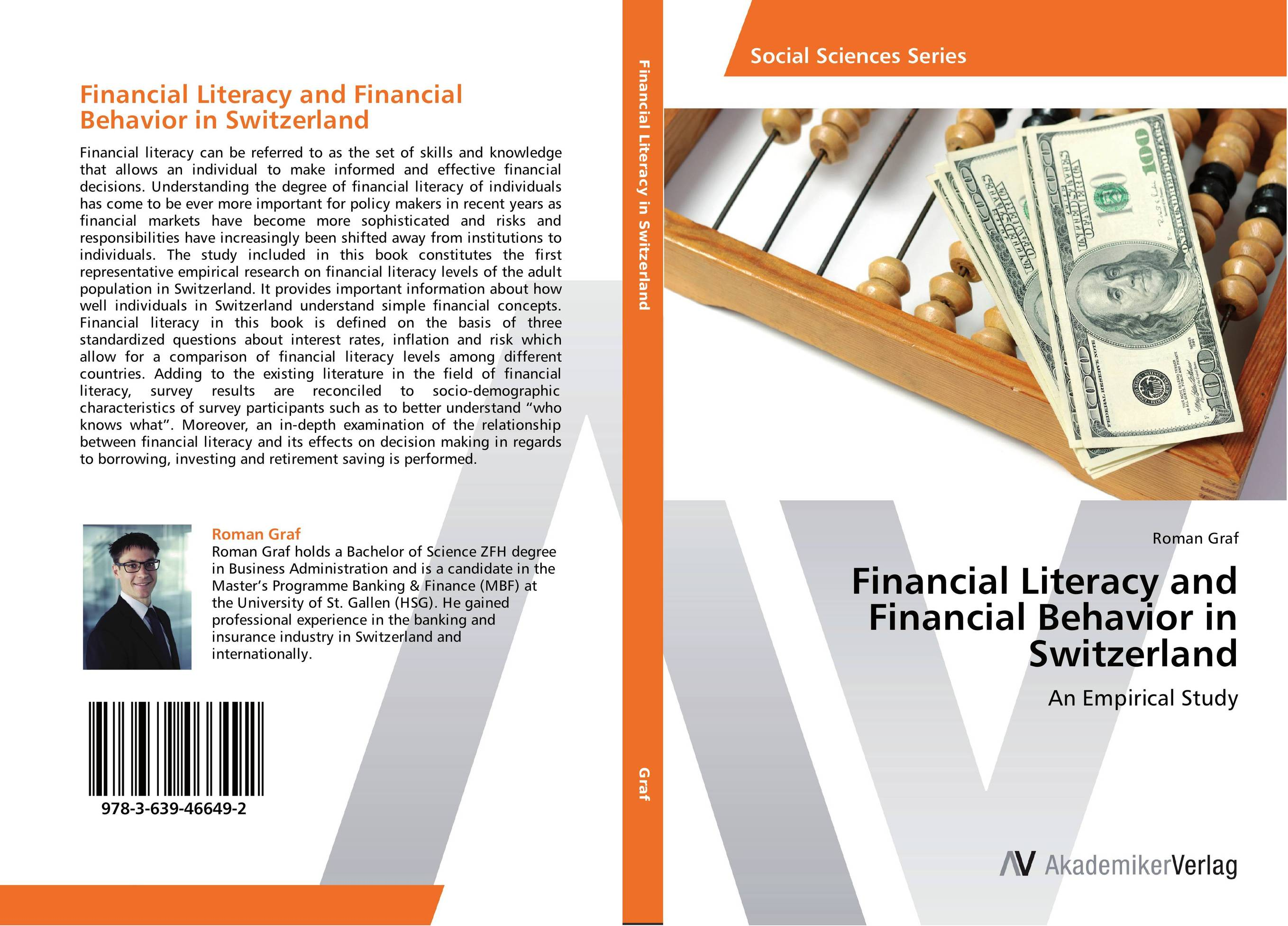 Financial Literacy and Financial Behavior in Switzerland different ways to organize the processes of financial administration
