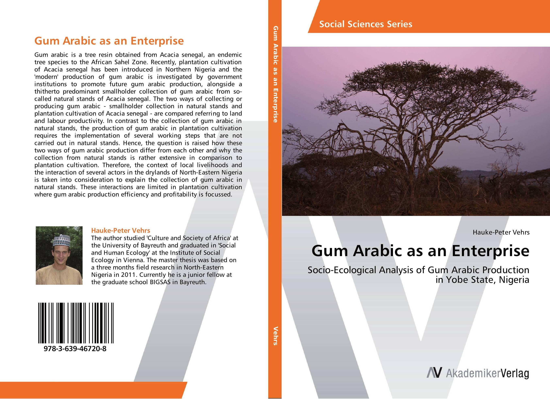 Gum Arabic as an Enterprise prepositions in english and arabic