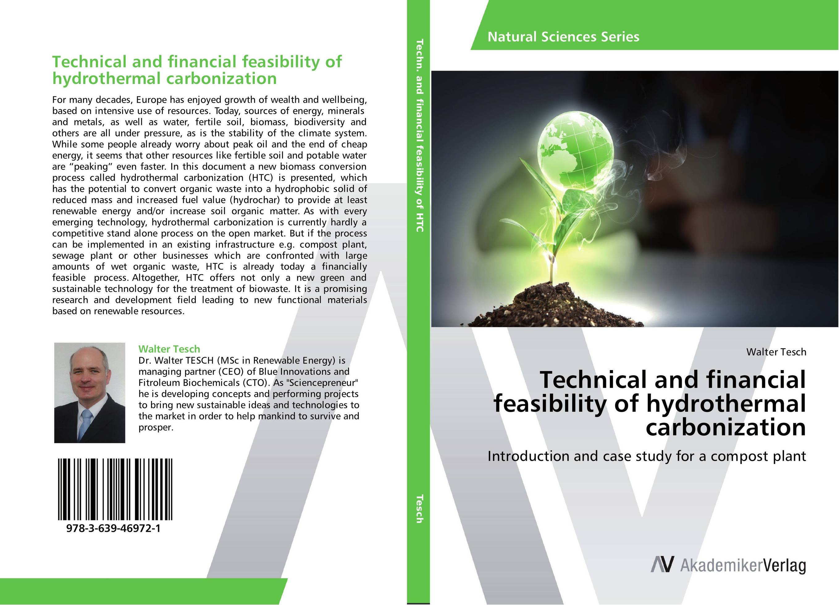 Technical and financial feasibility of hydrothermal carbonization hydrothermal autoclave reactor with teflon chamber hydrothermal synthesis 250ml