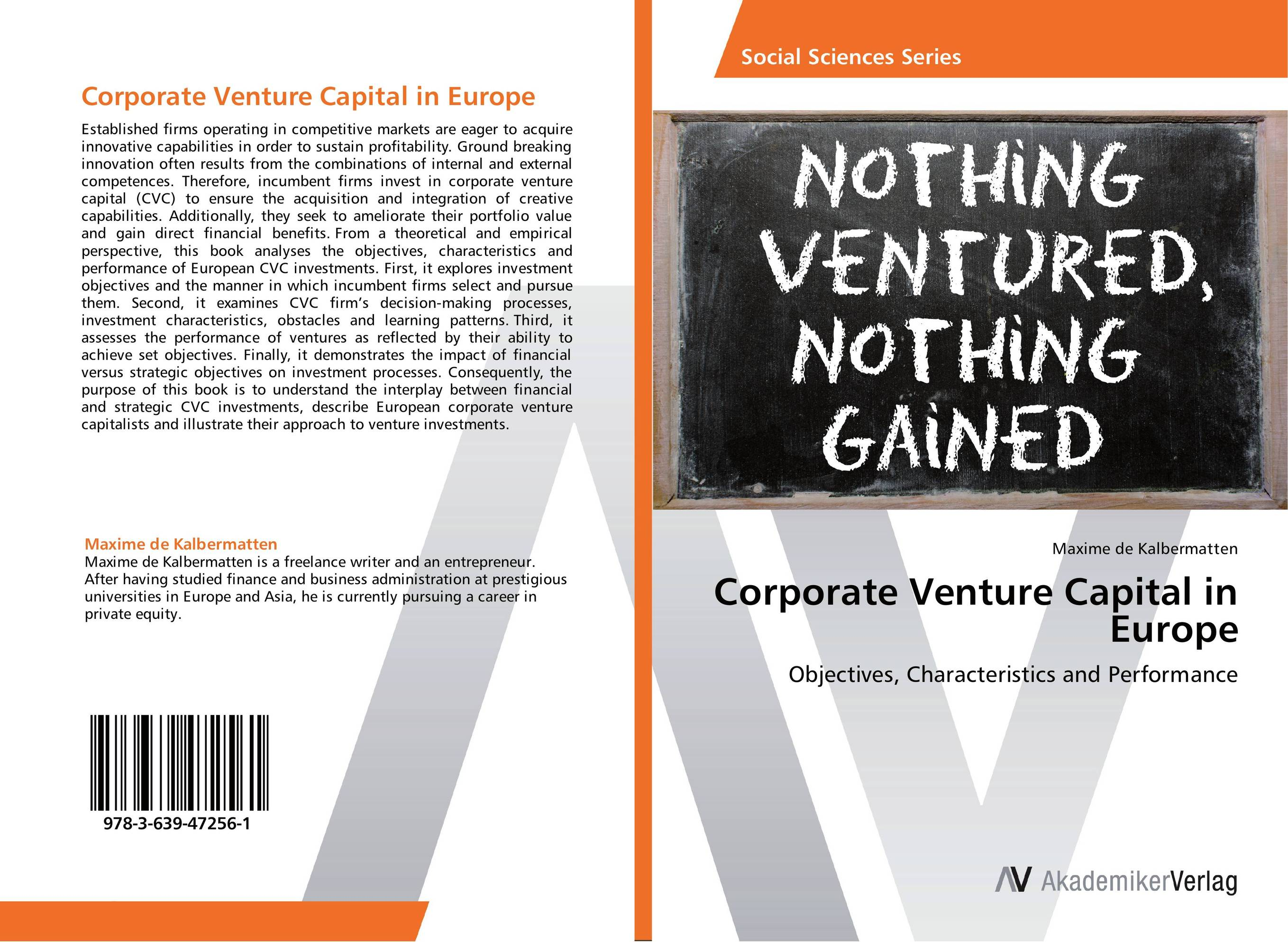 Фото Corporate Venture Capital in Europe finance and investments