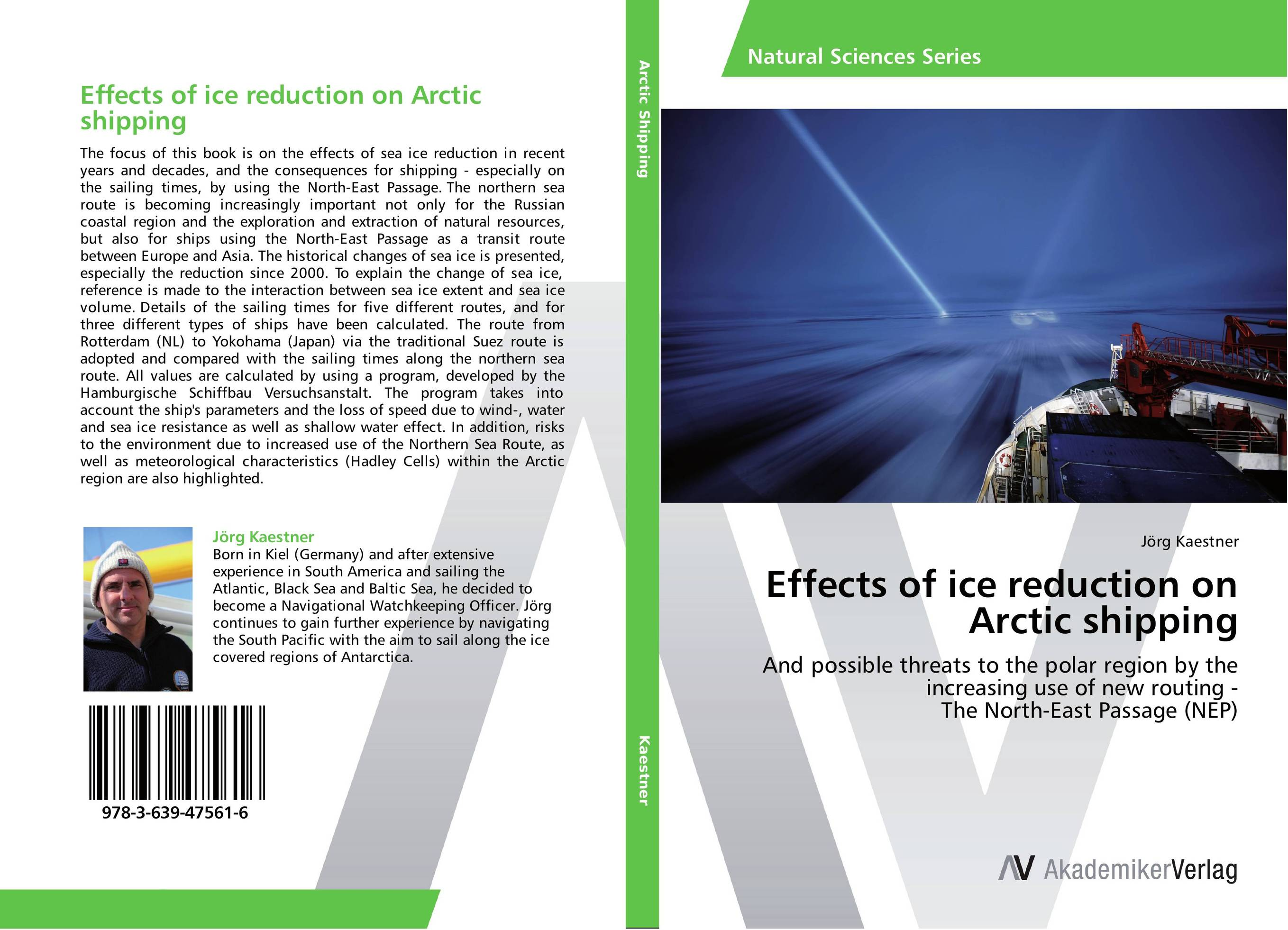 Effects of ice reduction on Arctic shipping tales of the amber sea