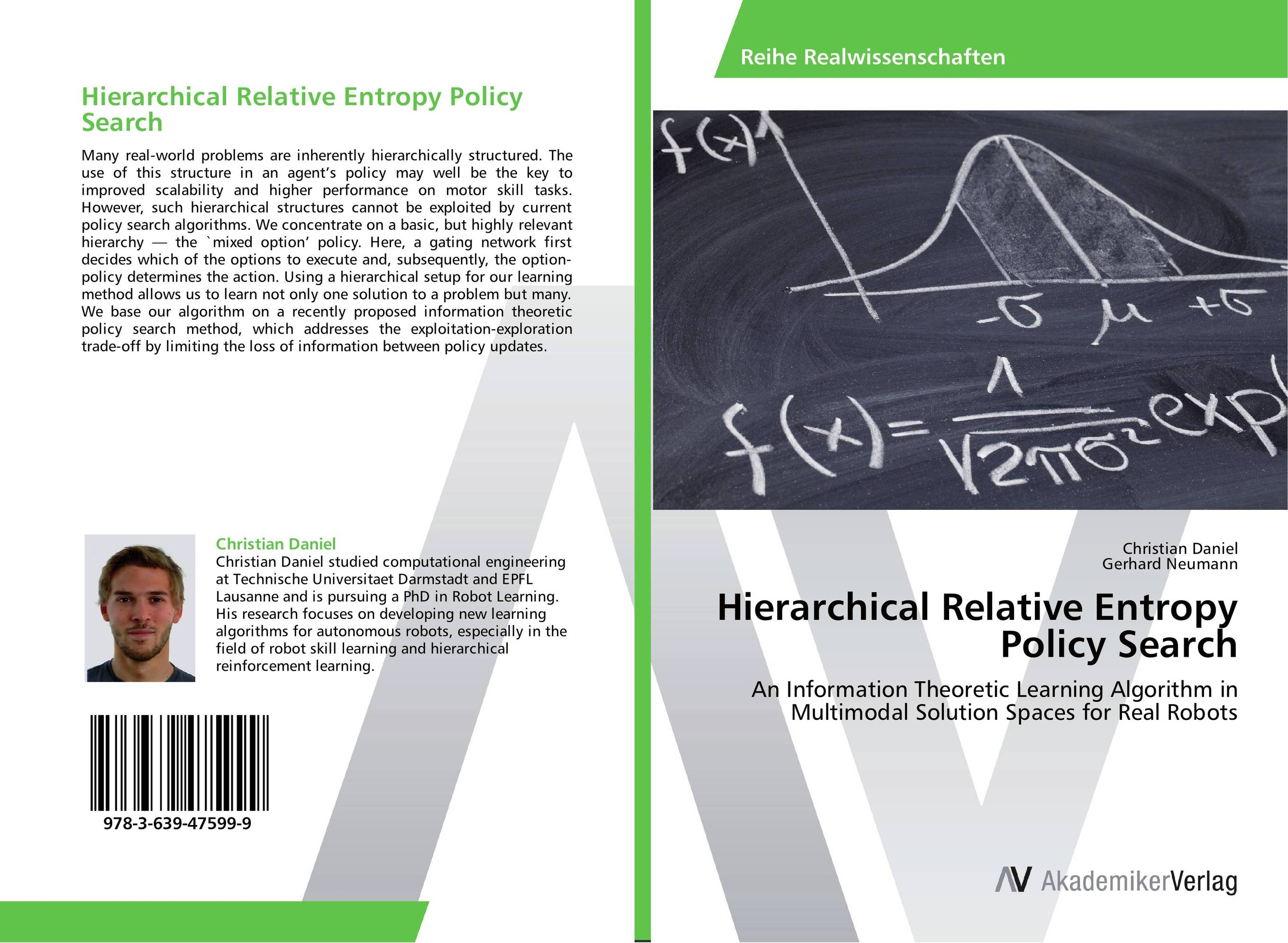 Hierarchical Relative Entropy Policy Search цена и фото