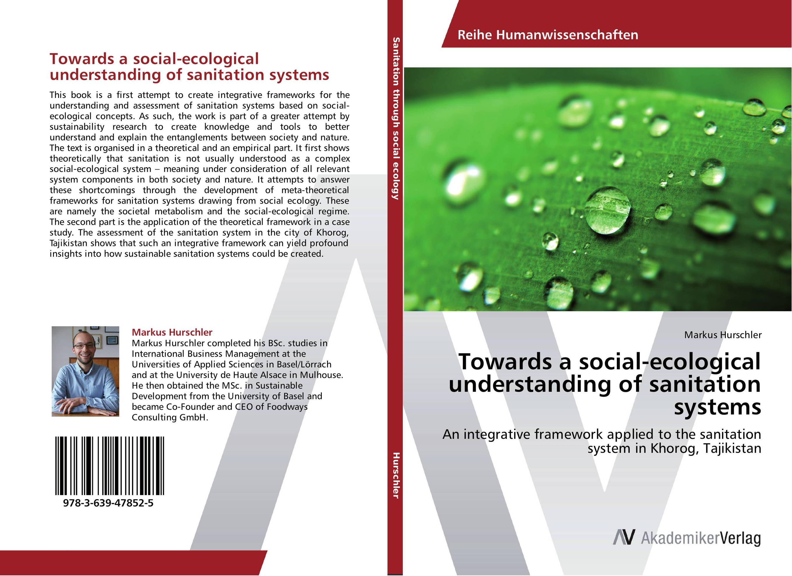 Towards a social-ecological understanding of sanitation systems the sky is falling – understanding