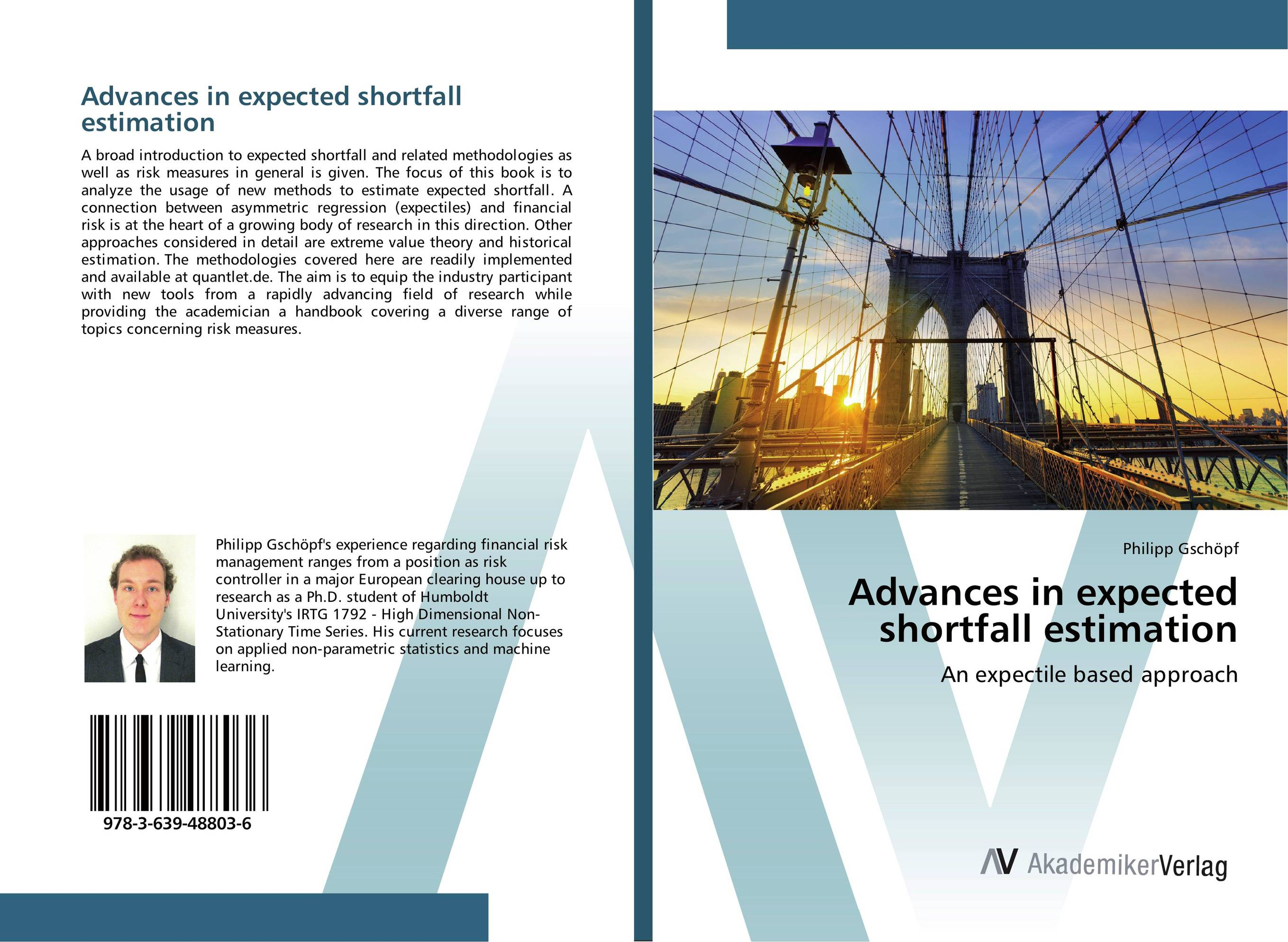 Advances in expected shortfall estimation anthony saunders credit risk measurement new approaches to value at risk and other paradigms