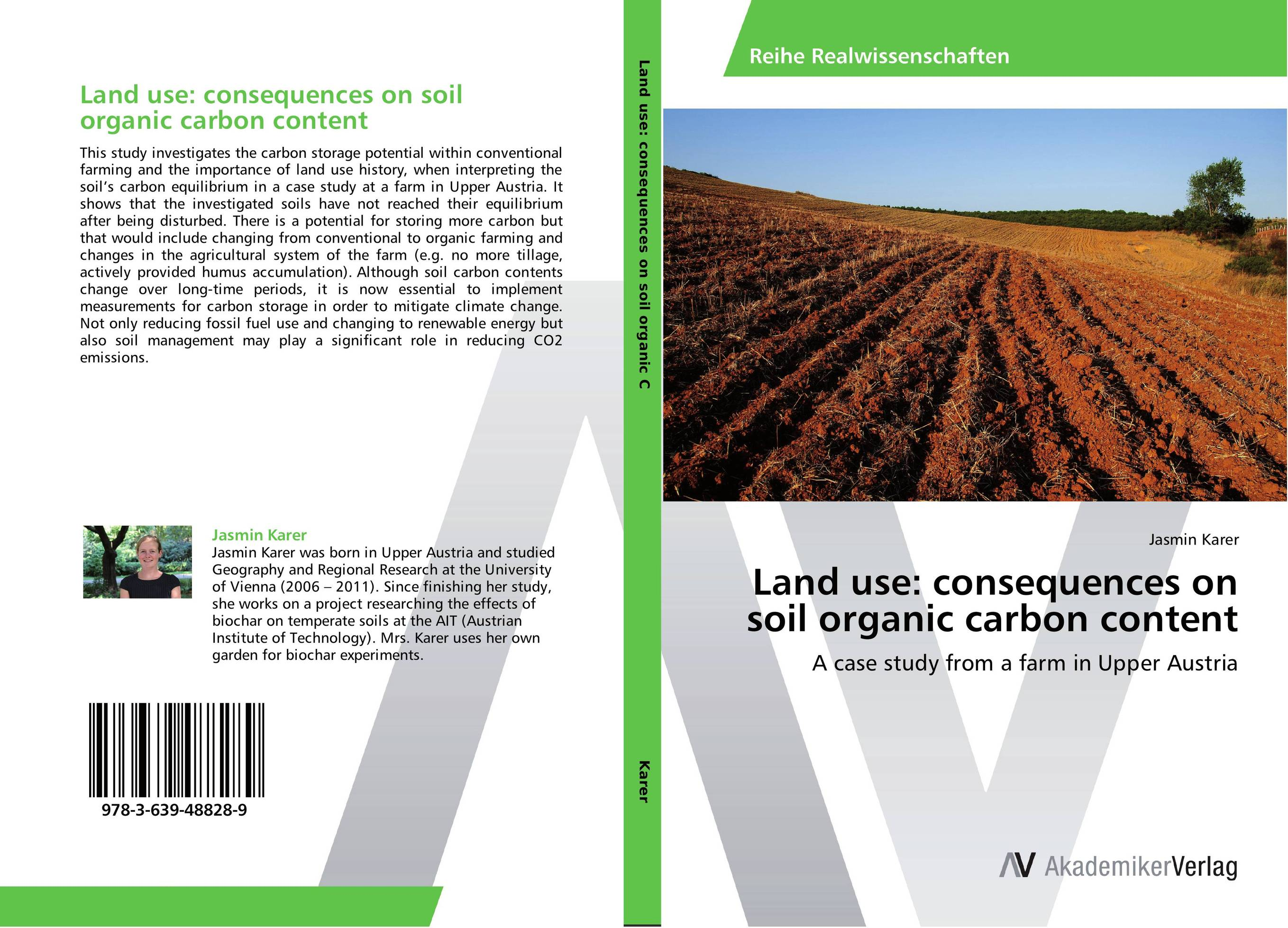 Land use: consequences on soil organic carbon content land use information system