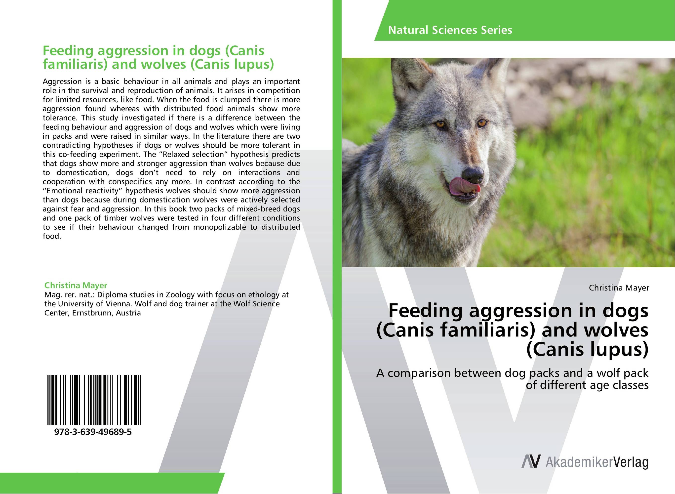 Feeding aggression in dogs (Canis familiaris) and wolves (Canis lupus) neoplasms in dogs