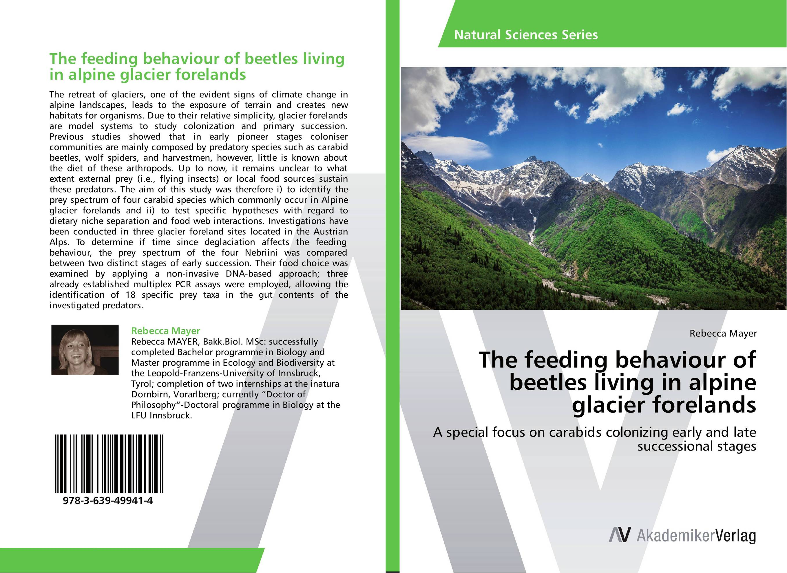The feeding behaviour of beetles living in alpine glacier forelands