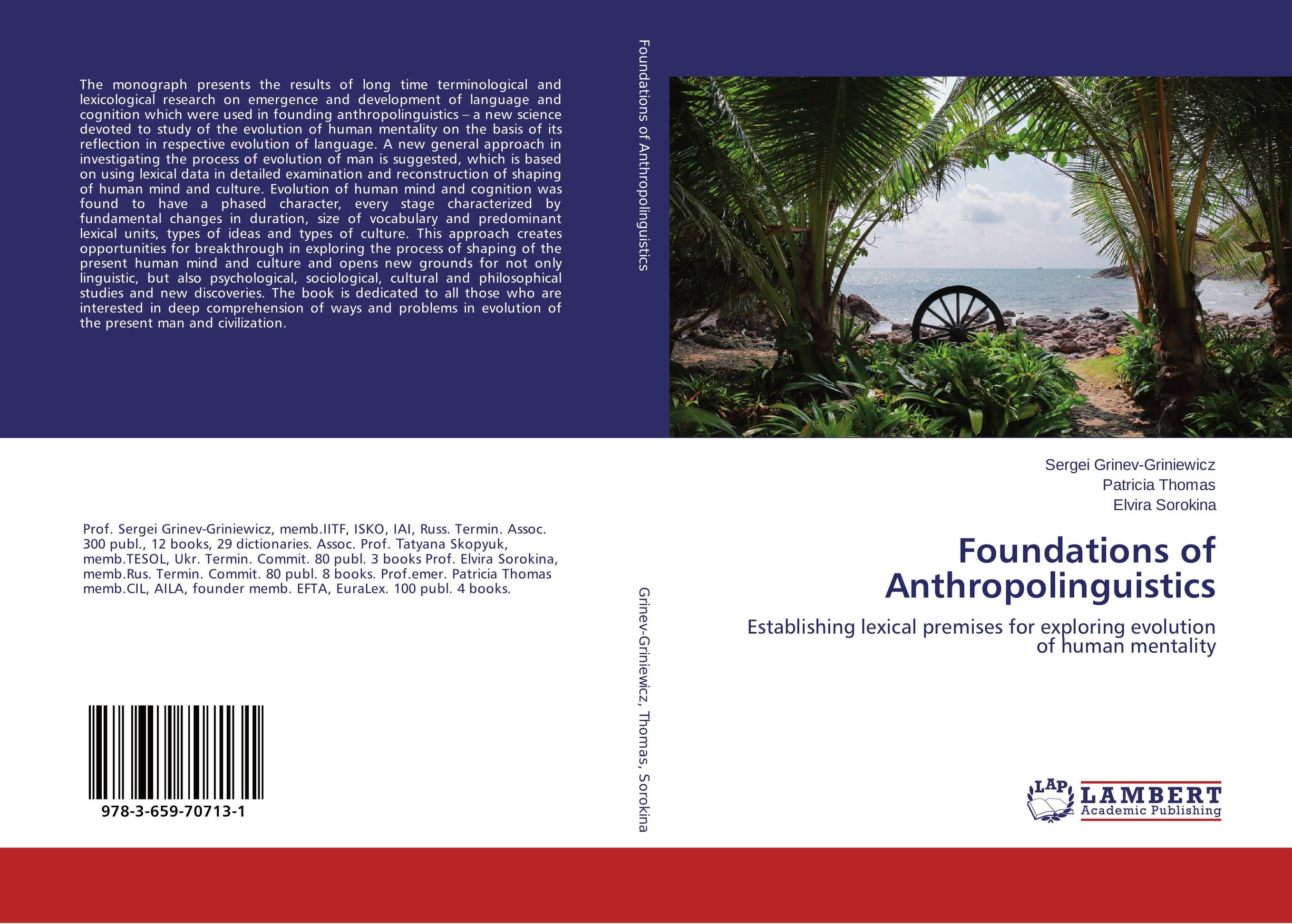 Foundations of Anthropolinguistics