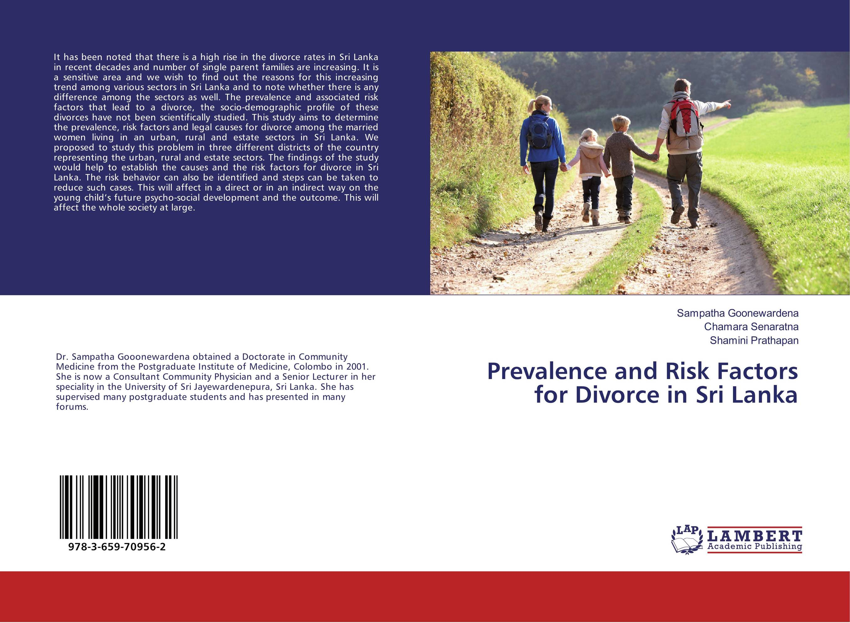 Prevalence and Risk Factors for Divorce in Sri Lanka prevalence of intestinal parasitosis among children