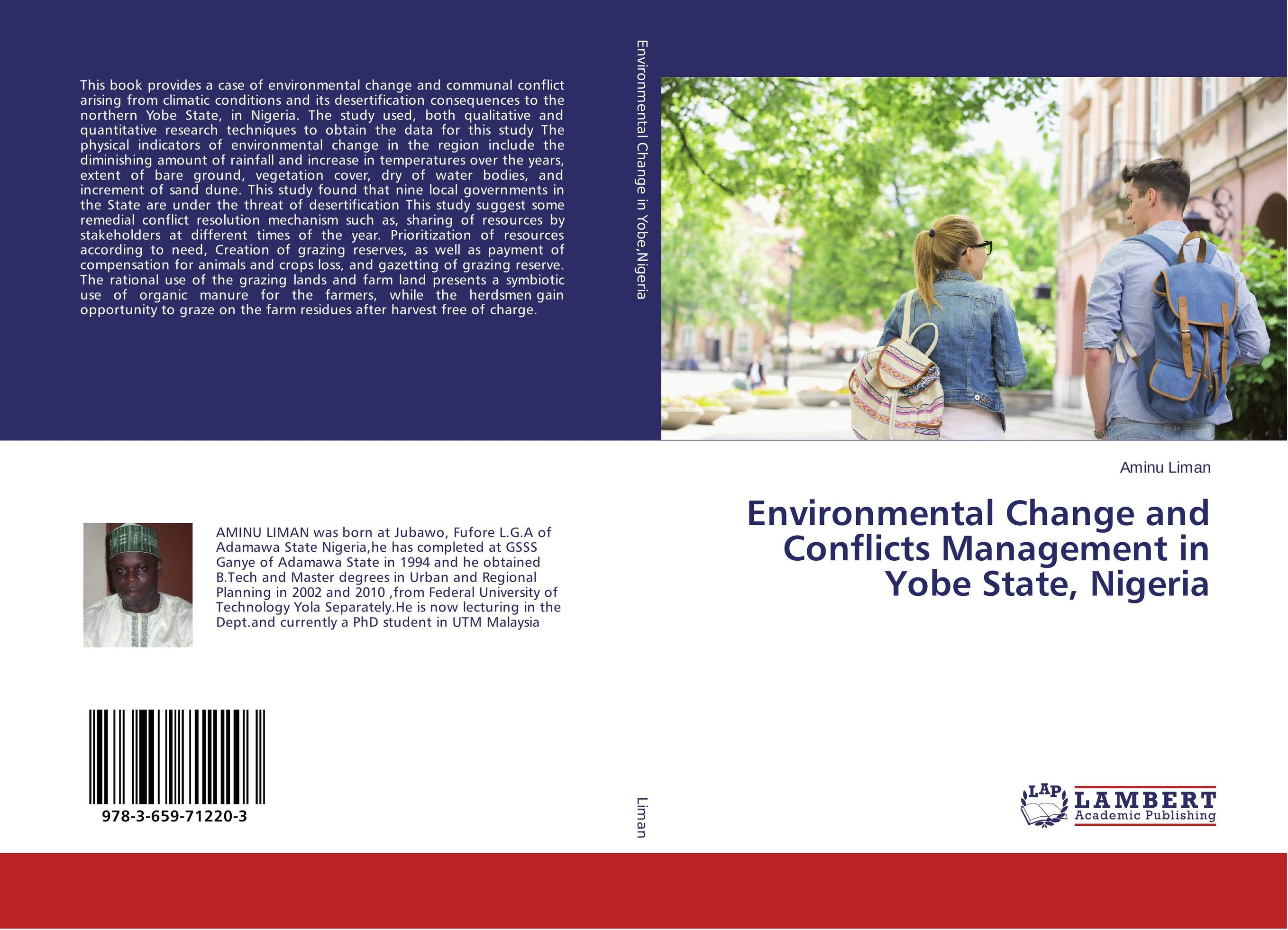 Environmental Change and Conflicts Management in Yobe State, Nigeria a theoritical study of intra state conflicts