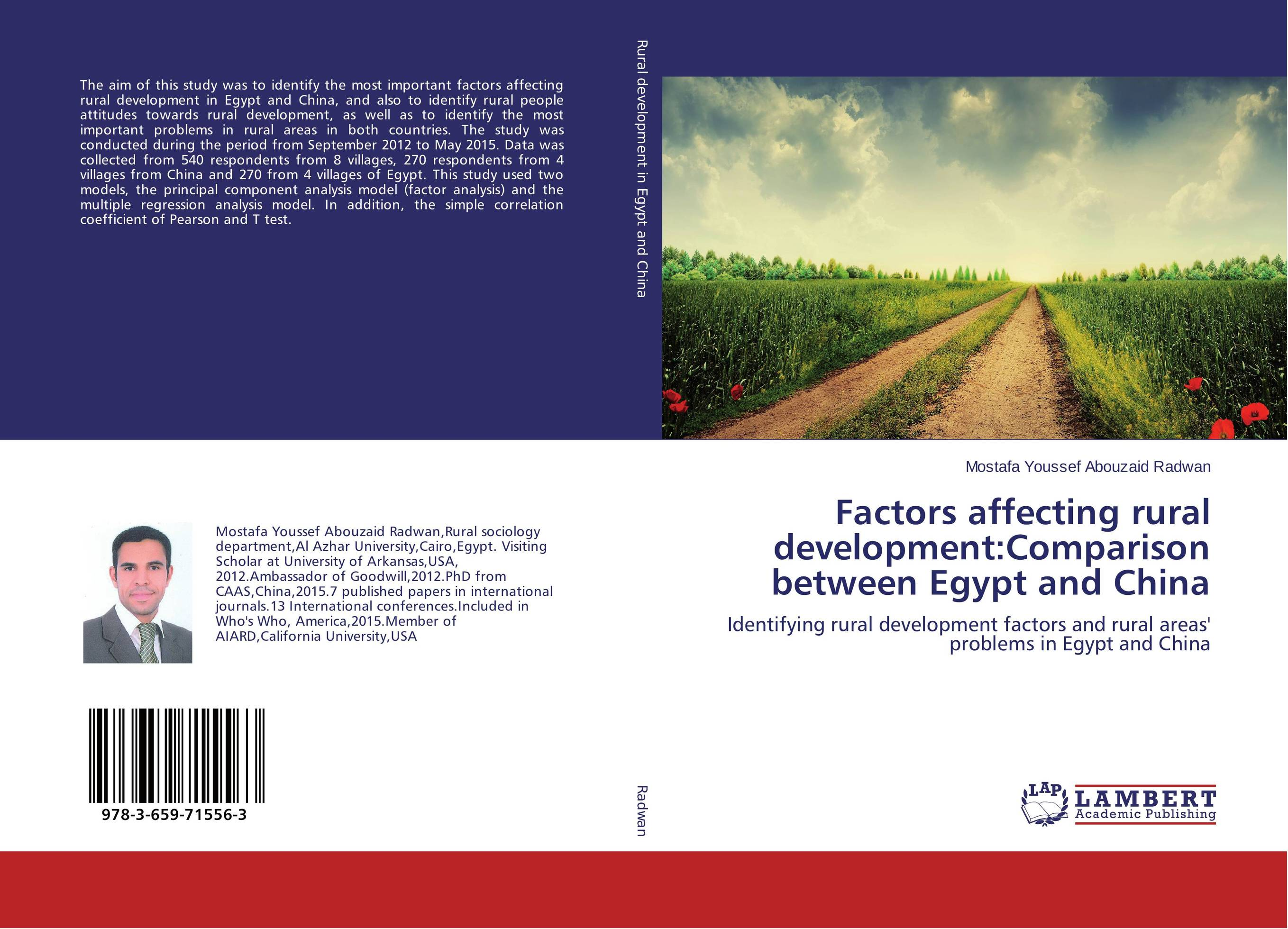 Factors affecting rural development:Comparison between Egypt and China