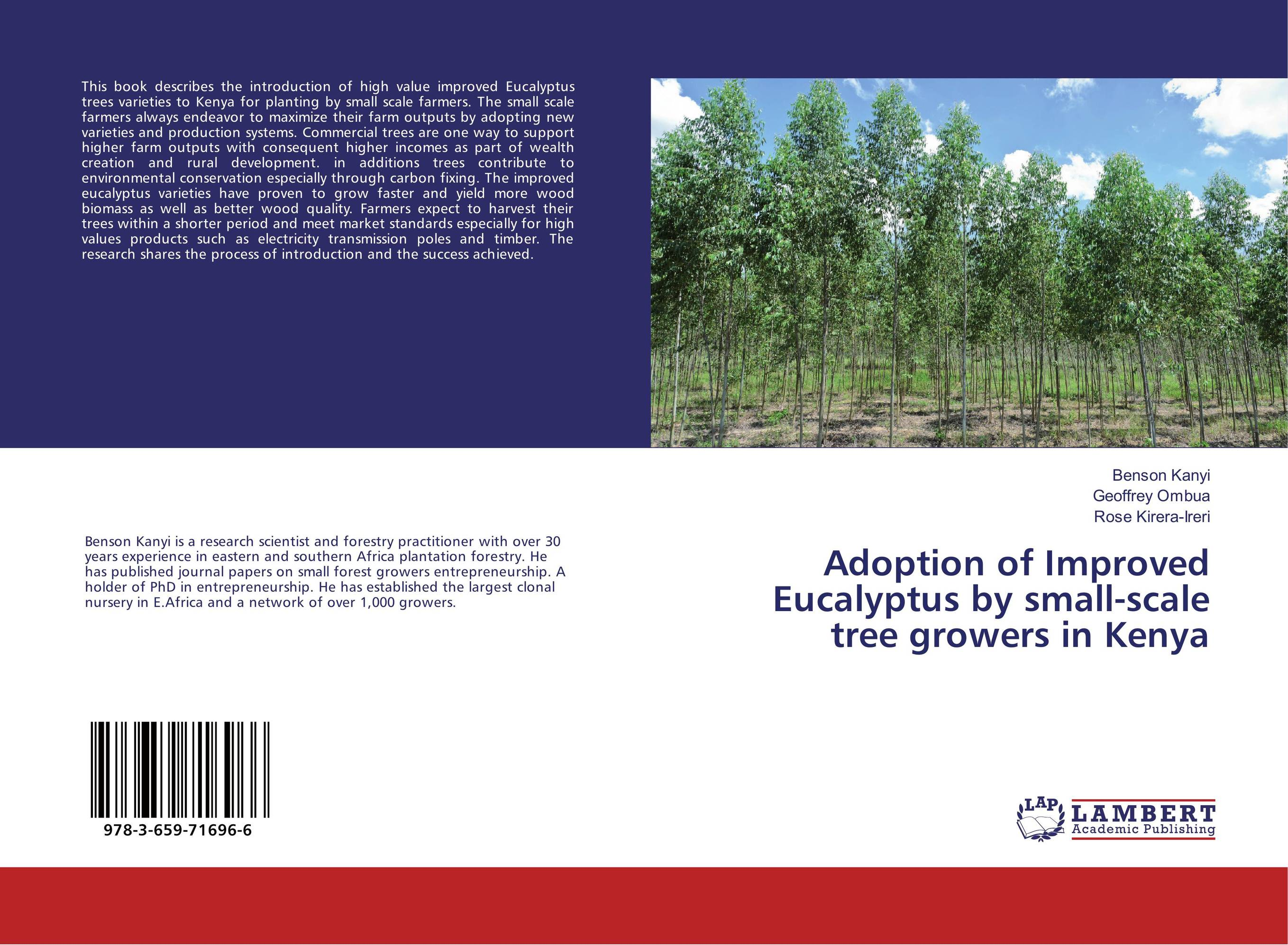 Adoption of Improved Eucalyptus by small-scale tree growers in Kenya among the lemon trees