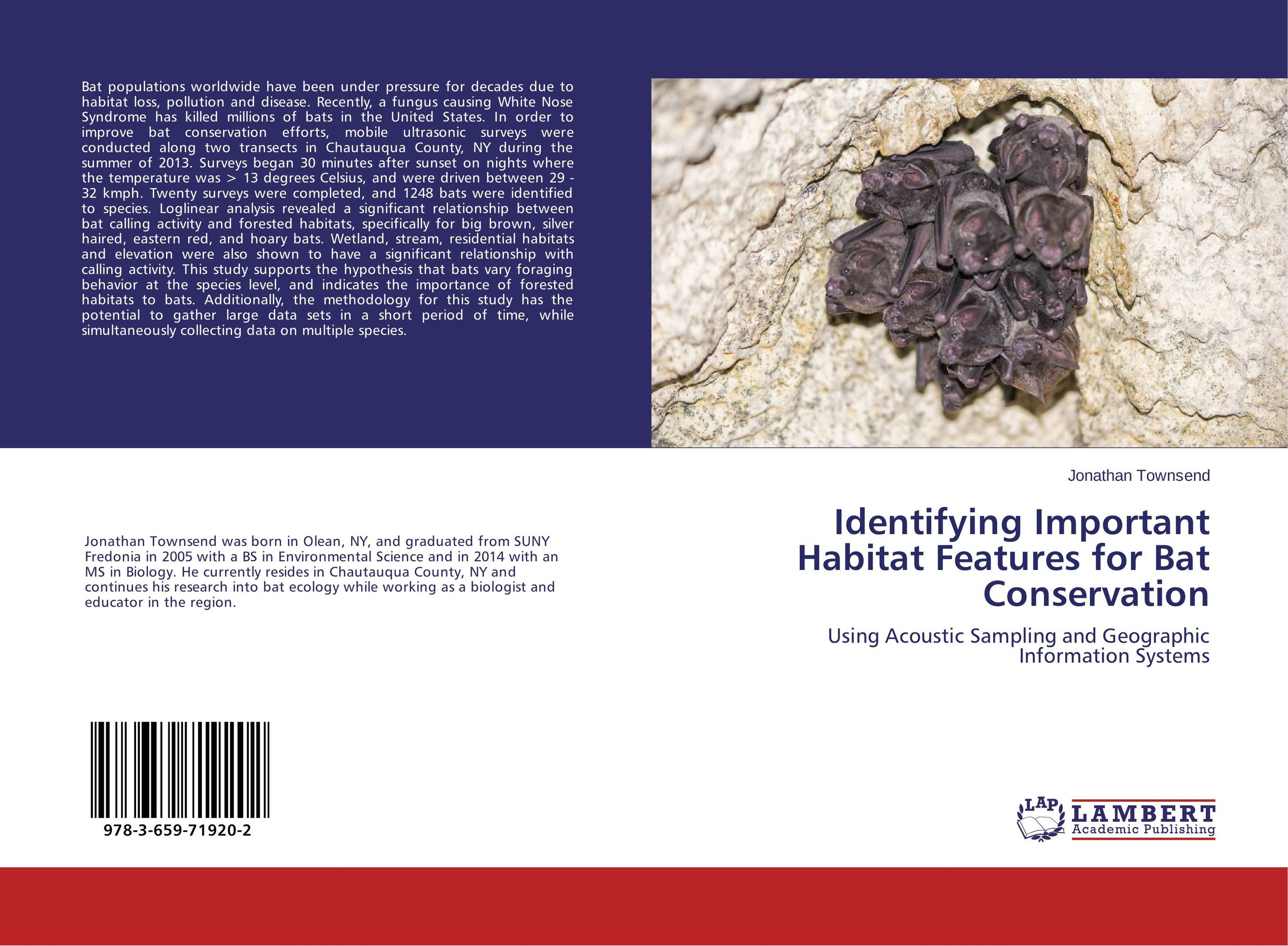 Identifying Important Habitat Features for Bat Conservation bats of the republic