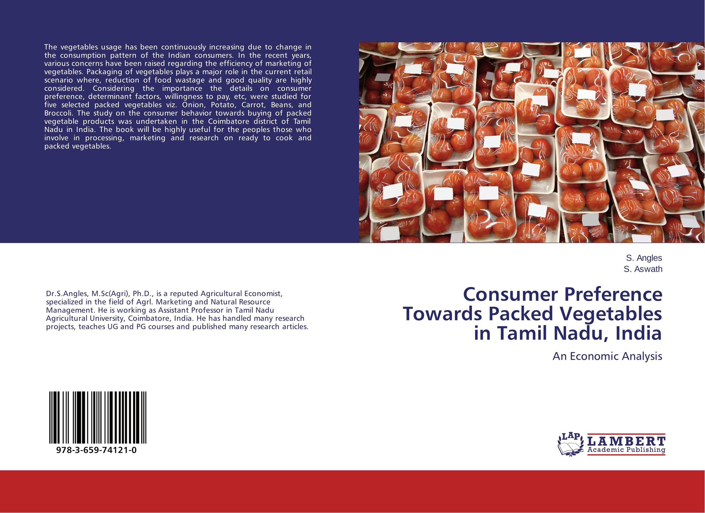 Consumer Preference Towards Packed Vegetables in Tamil Nadu, India the effect of advertisement on consumer behavior and brand preference